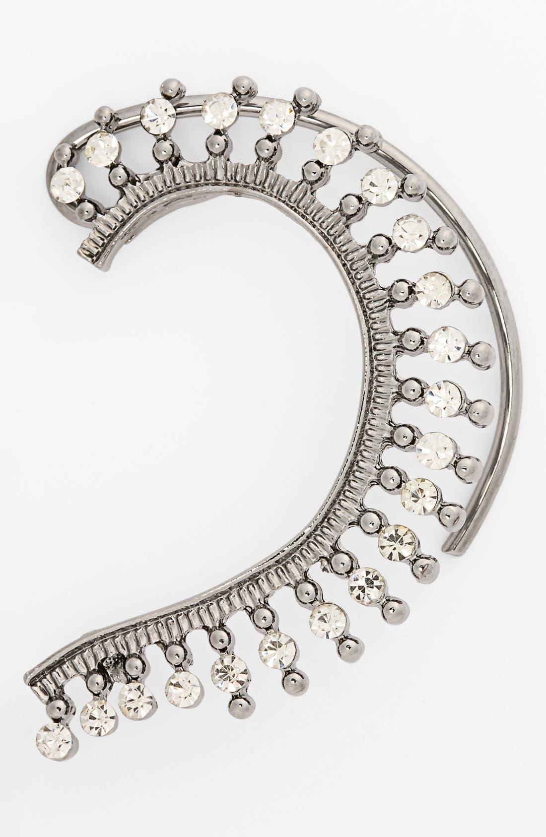 Main Image - Cara Couture Crystal Ear Cuff