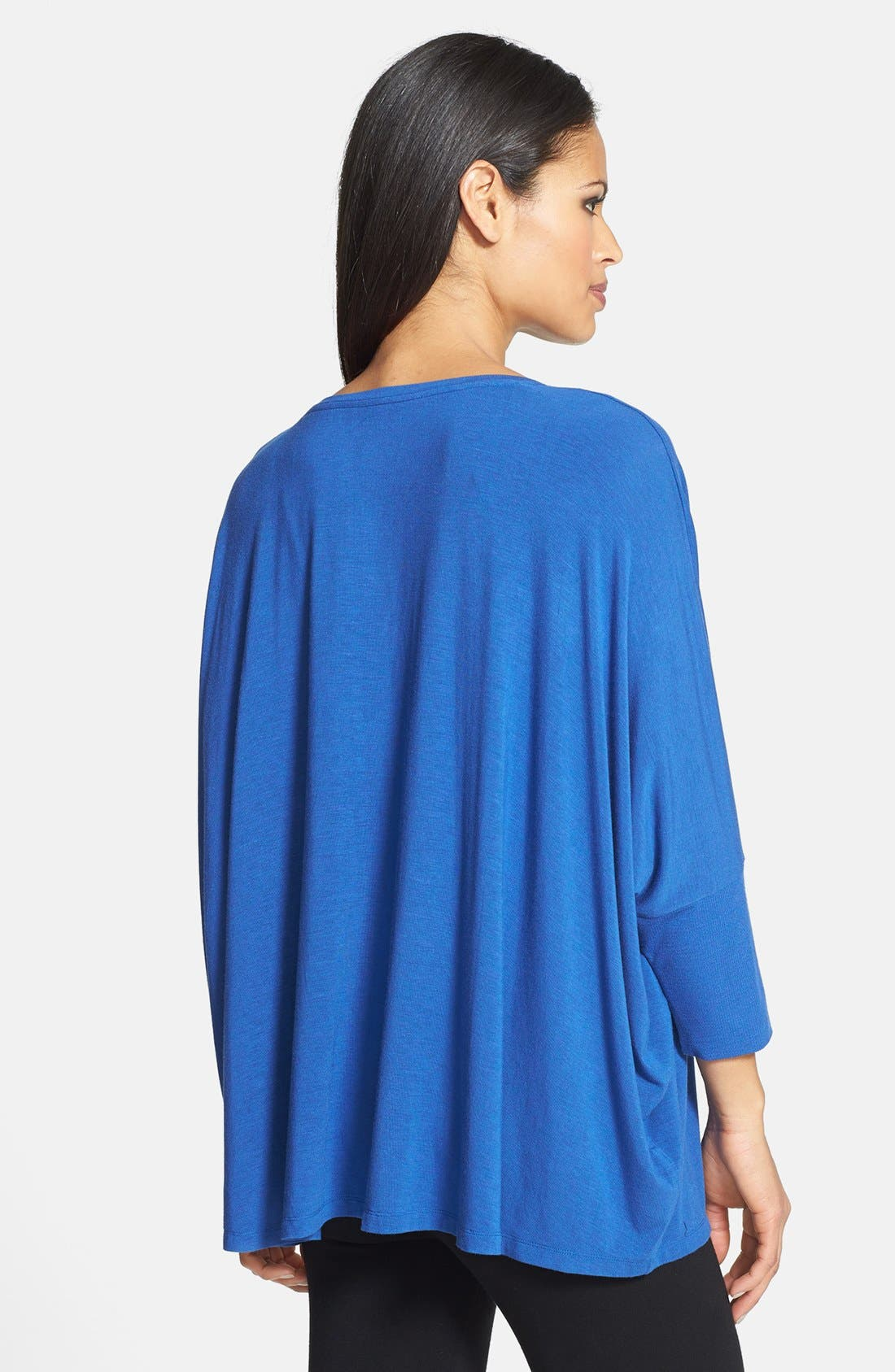 Alternate Image 2  - Eileen Fisher Scoop Neck Boxy Top