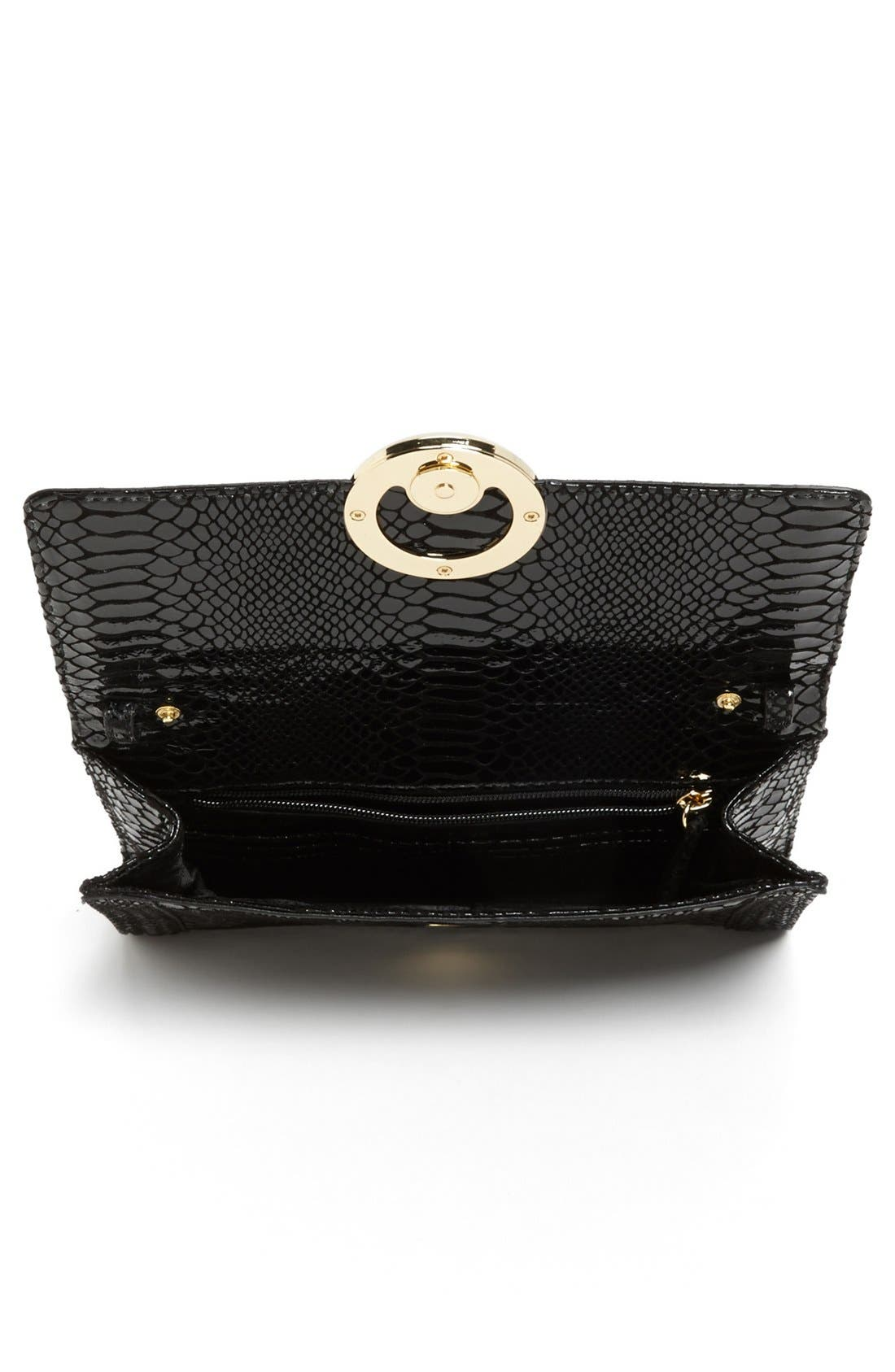 Alternate Image 3  - MICHAEL Michael Kors 'Fulton Bombe' Clutch