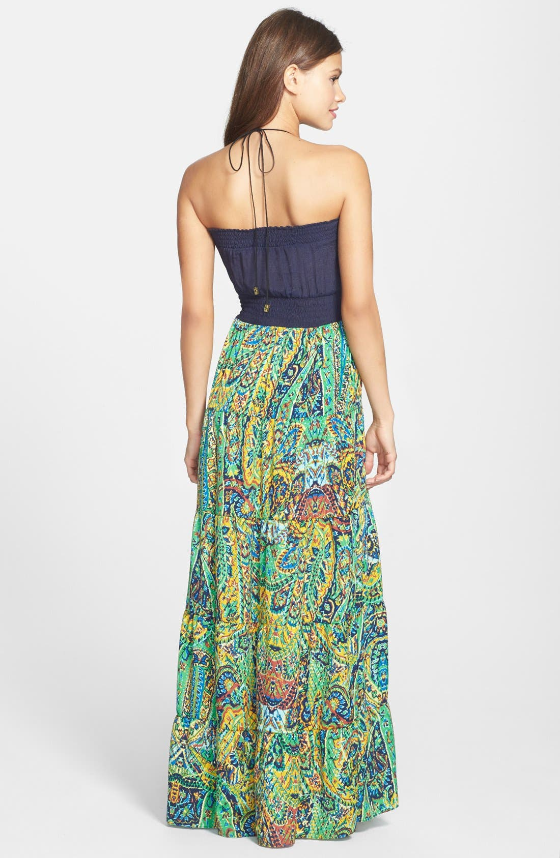 Alternate Image 2  - Tbags Los Angeles Embellished Maxi Dress