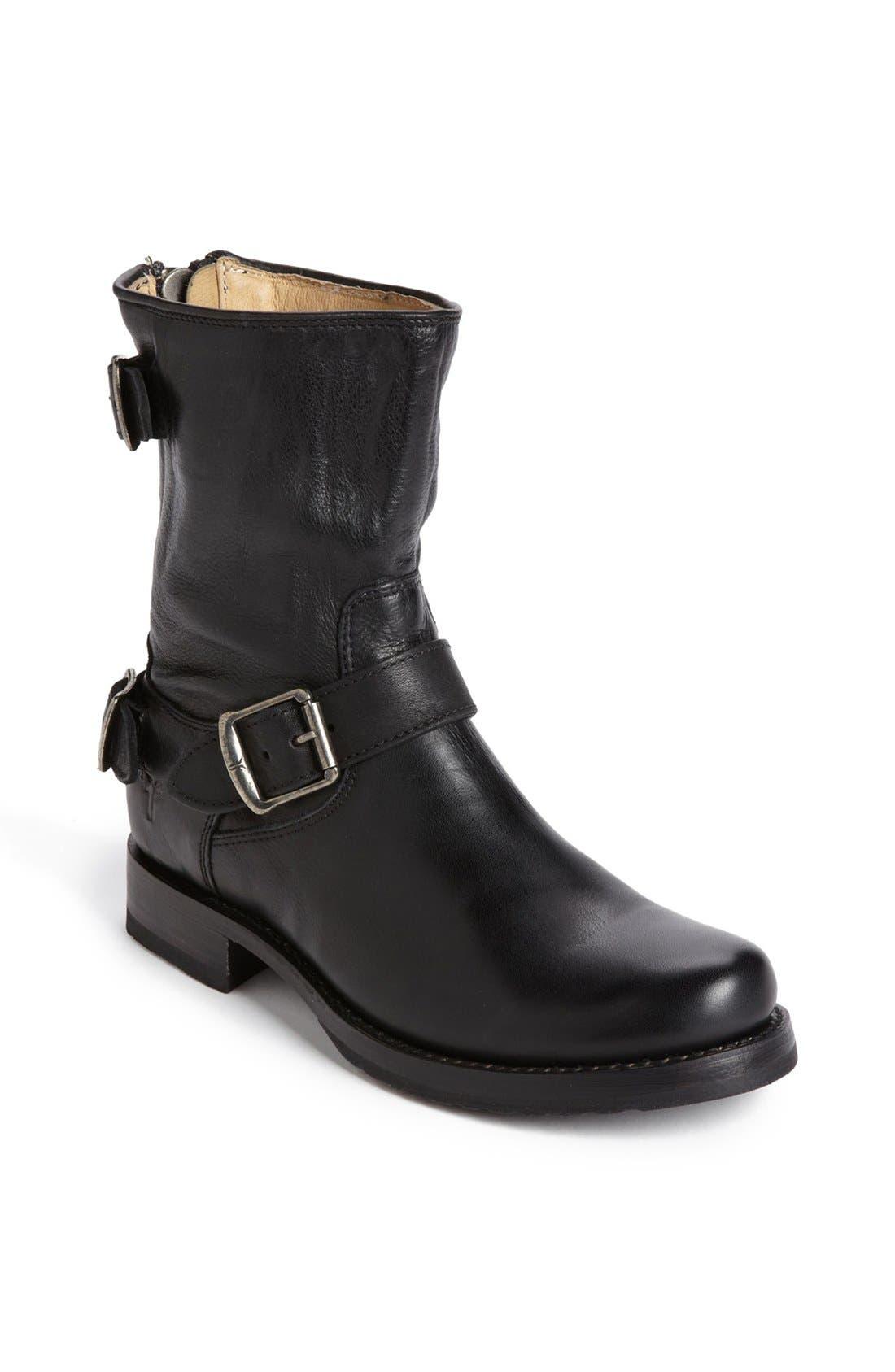 Alternate Image 1 Selected - Frye 'Veronica' Back Zip Short Boot