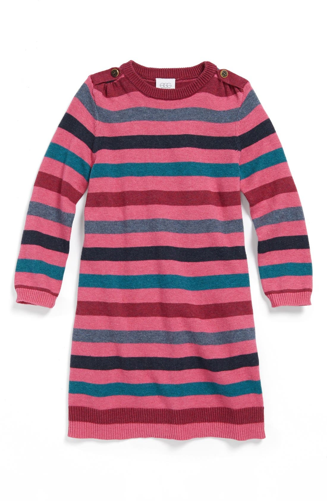 Main Image - egg by susan lazar Stripe Dress (Baby Girls)