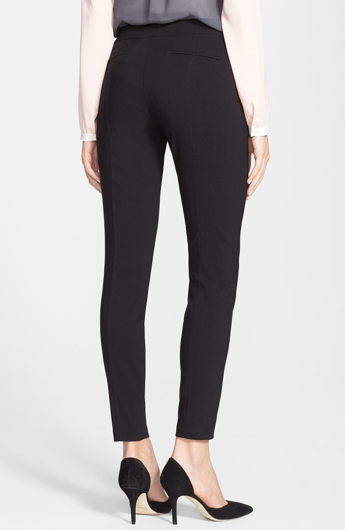 Alternate Image 2  - DKNYC Stretch Woven Skinny Pants