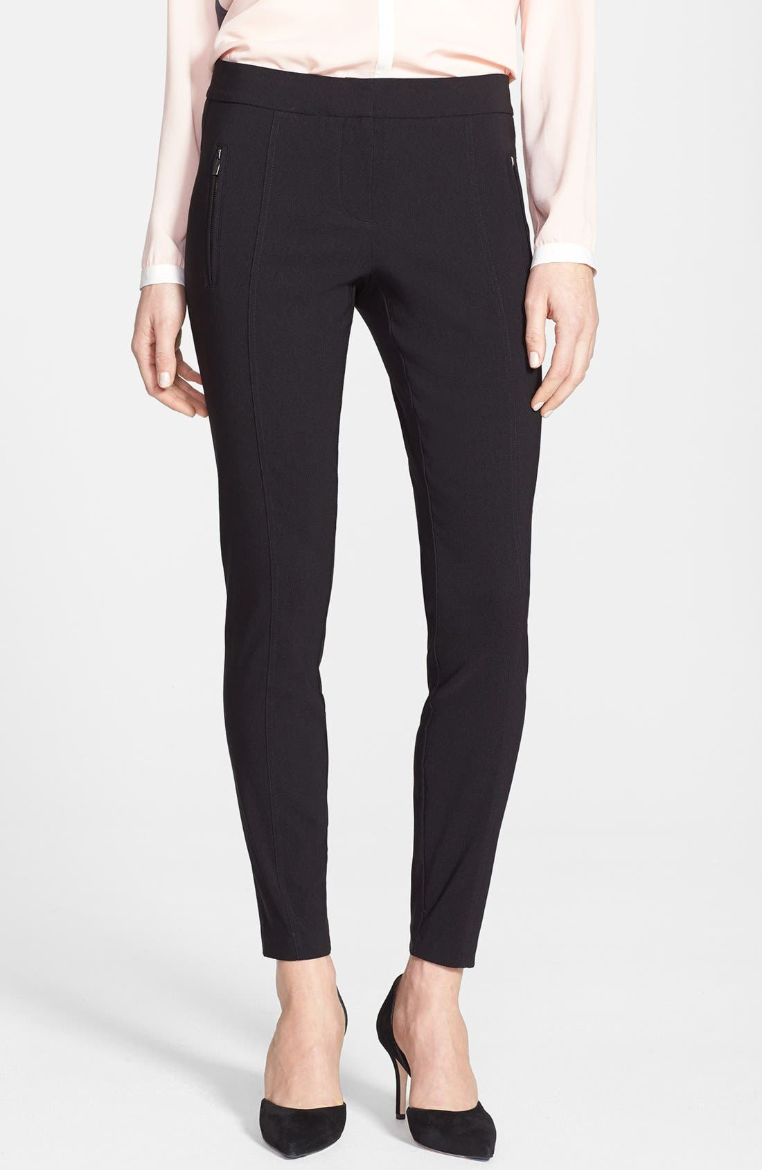 Main Image - DKNYC Stretch Woven Skinny Pants