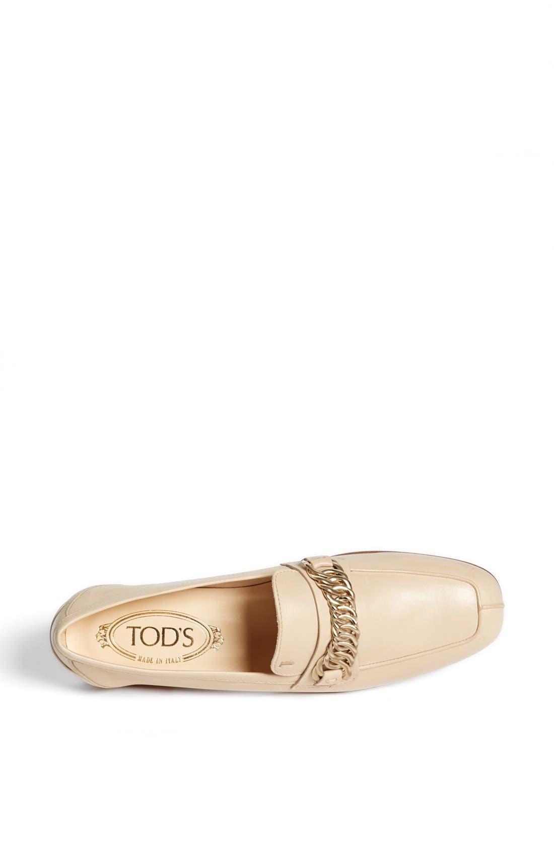 Alternate Image 3  - Tod's Leather Moccasin Loafer