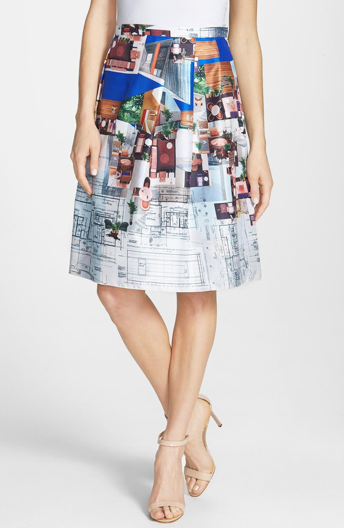 Alternate Image 1 Selected - Clover Canyon 'Case Study' Skirt