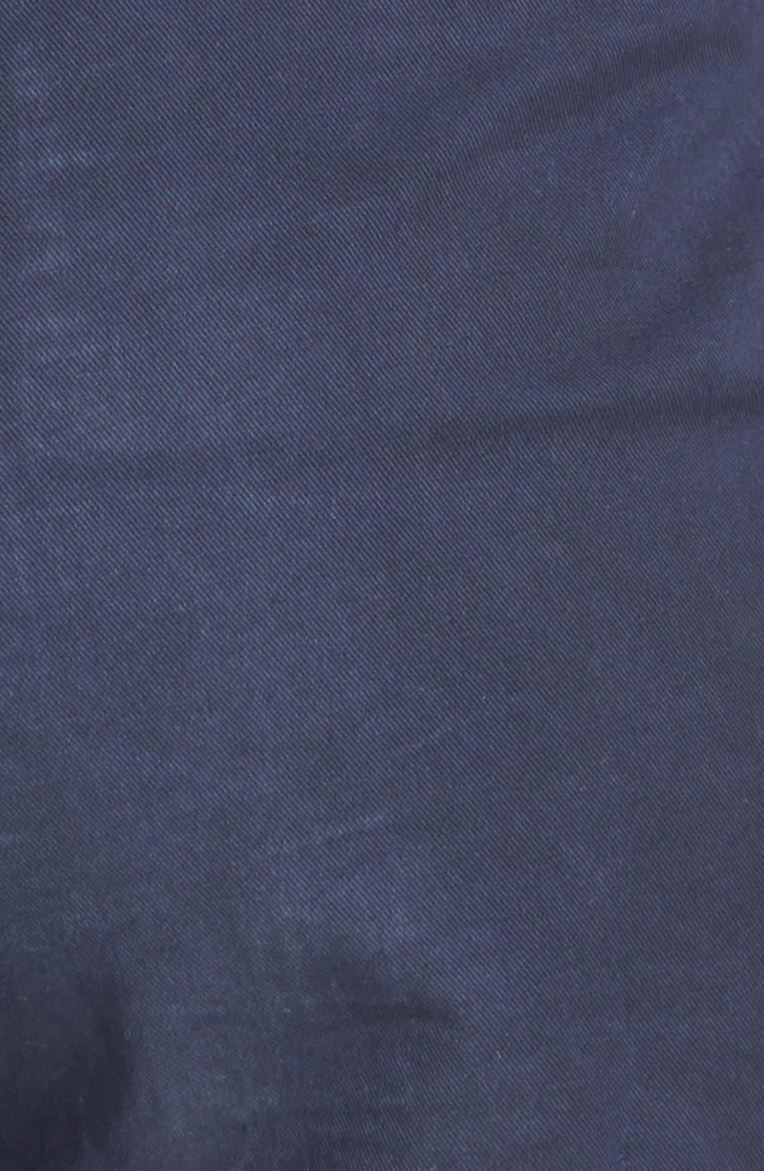 Alternate Image 3  - Caslon® Clean Front Five-Inch Shorts (Regular & Petite)
