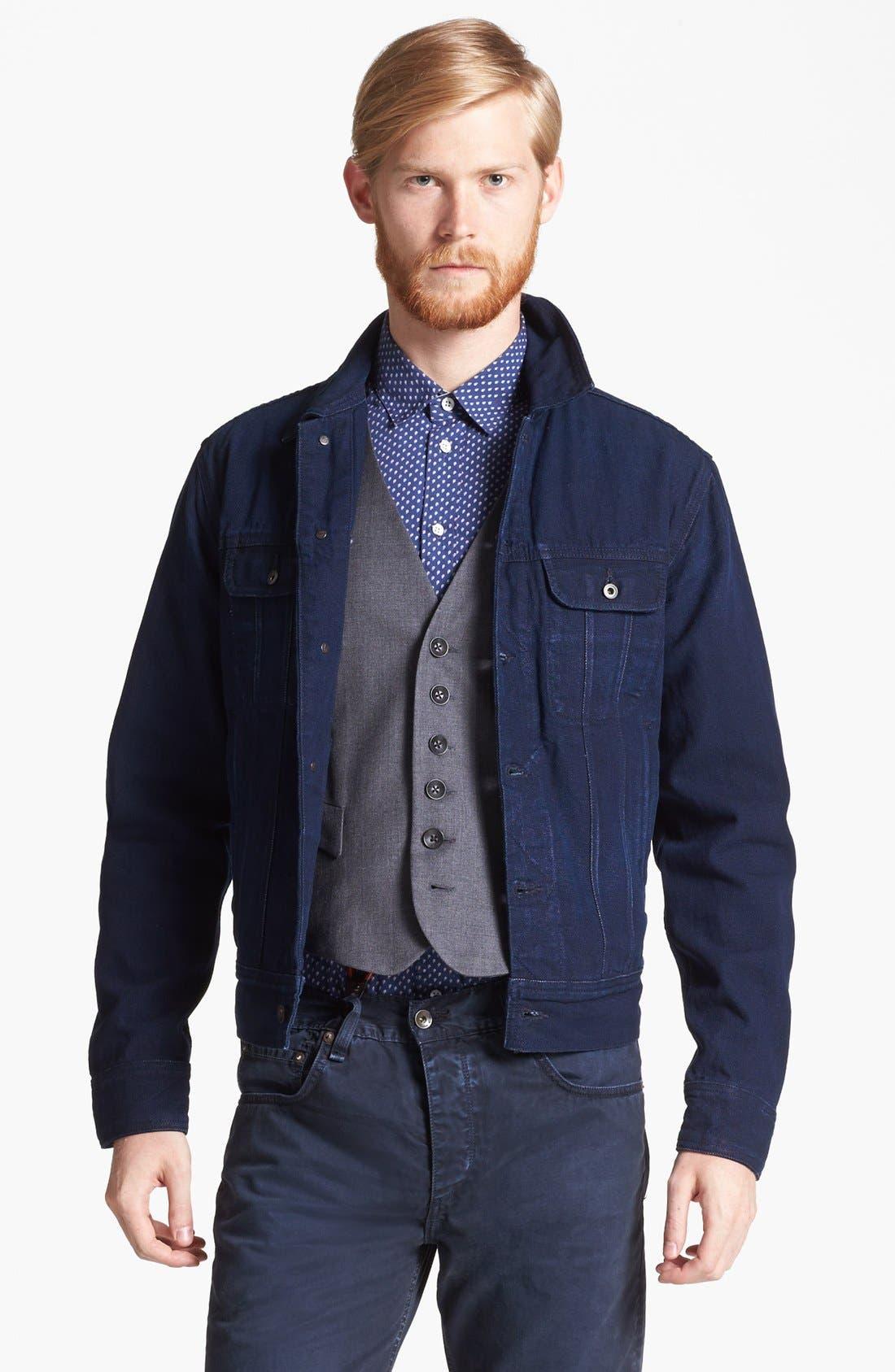 Alternate Image 1 Selected - rag & bone Denim Jacket