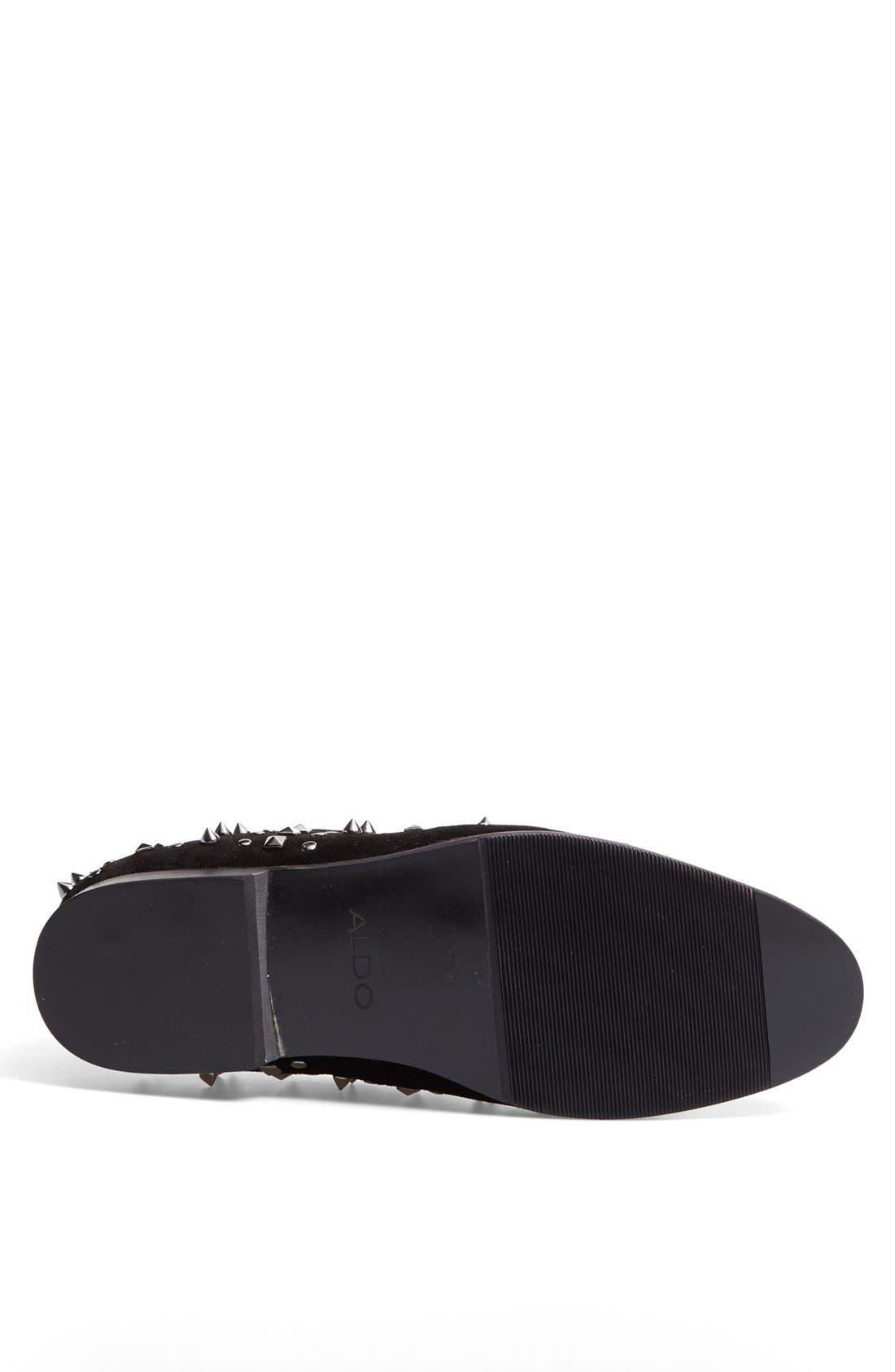 Alternate Image 4  - ALDO 'Coyan' Studded Loafer