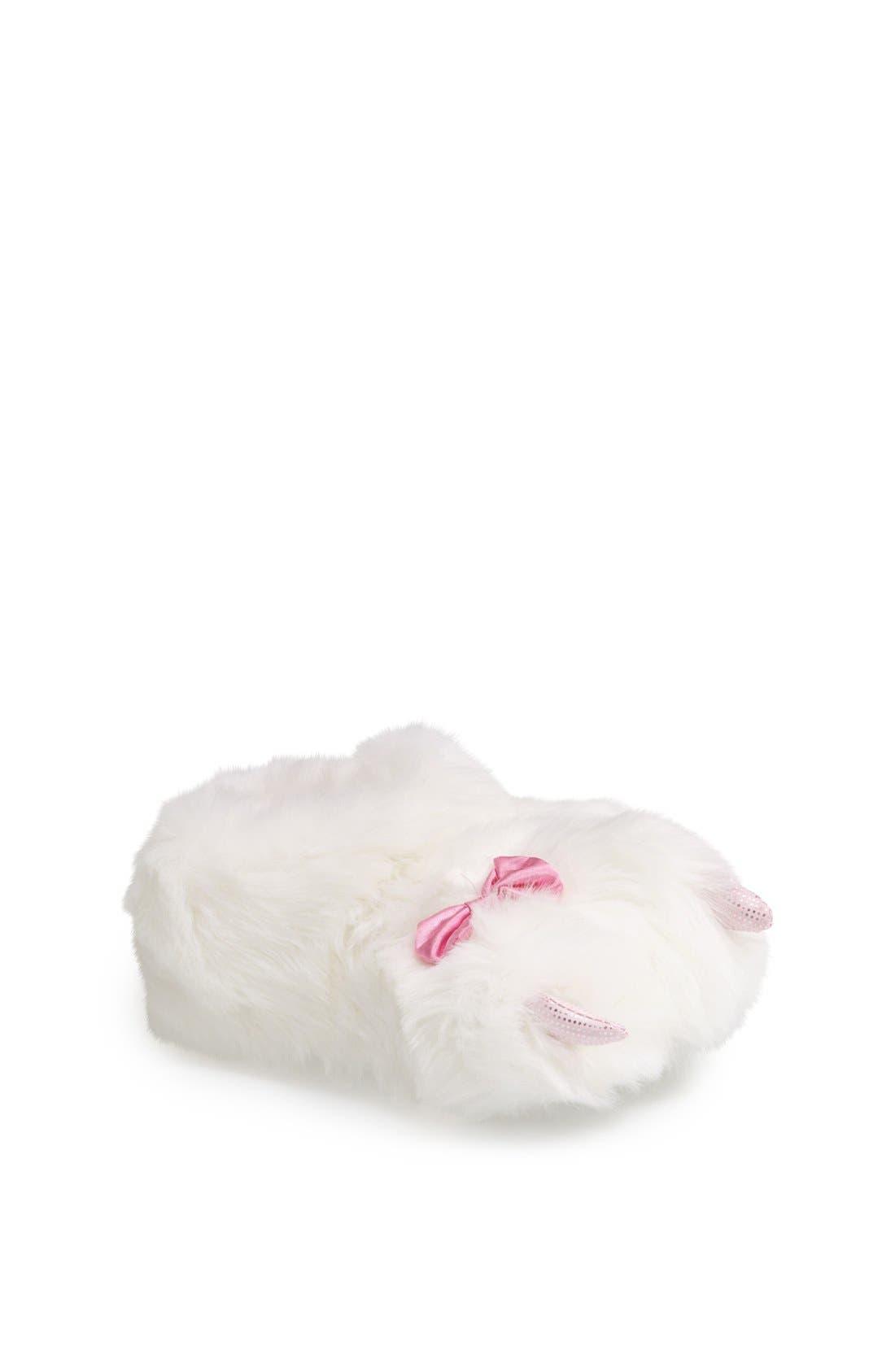 Alternate Image 1 Selected - Stride Rite 'Chloe' Bear Claw Slipper (Toddler Girls & Little Girls)