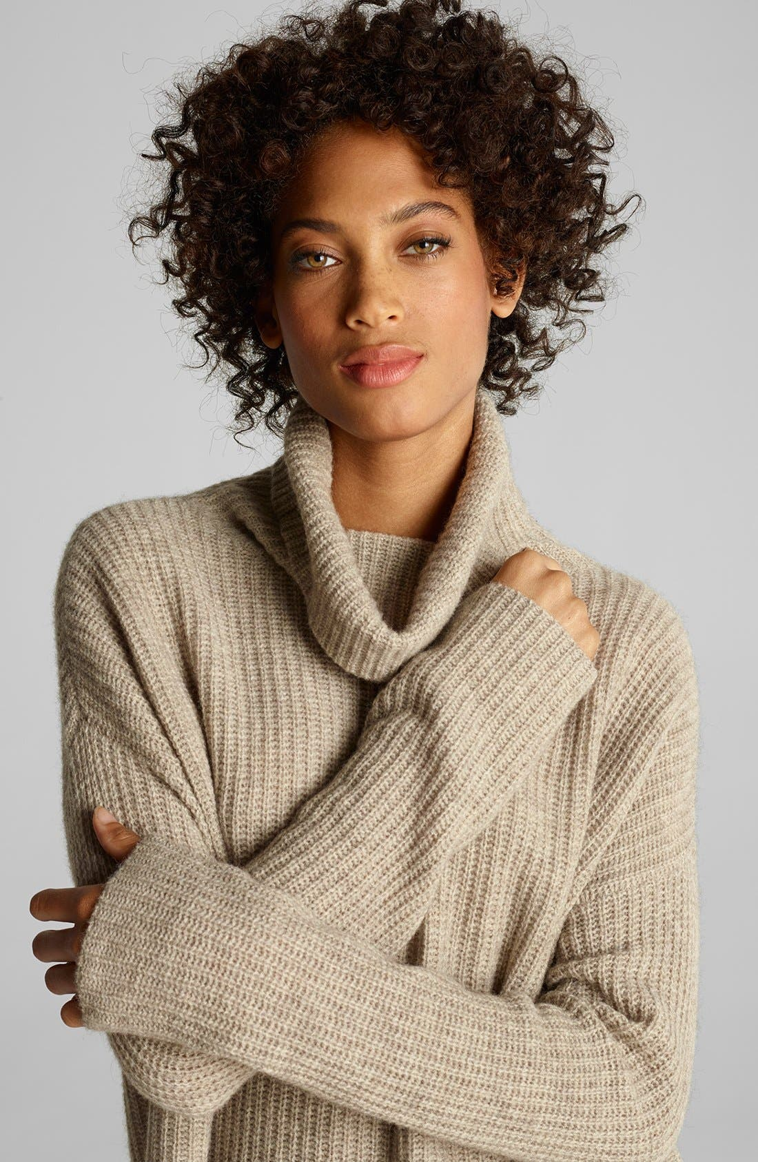 Alternate Image 2  - Eileen Fisher Sweater & Skinny Jeans