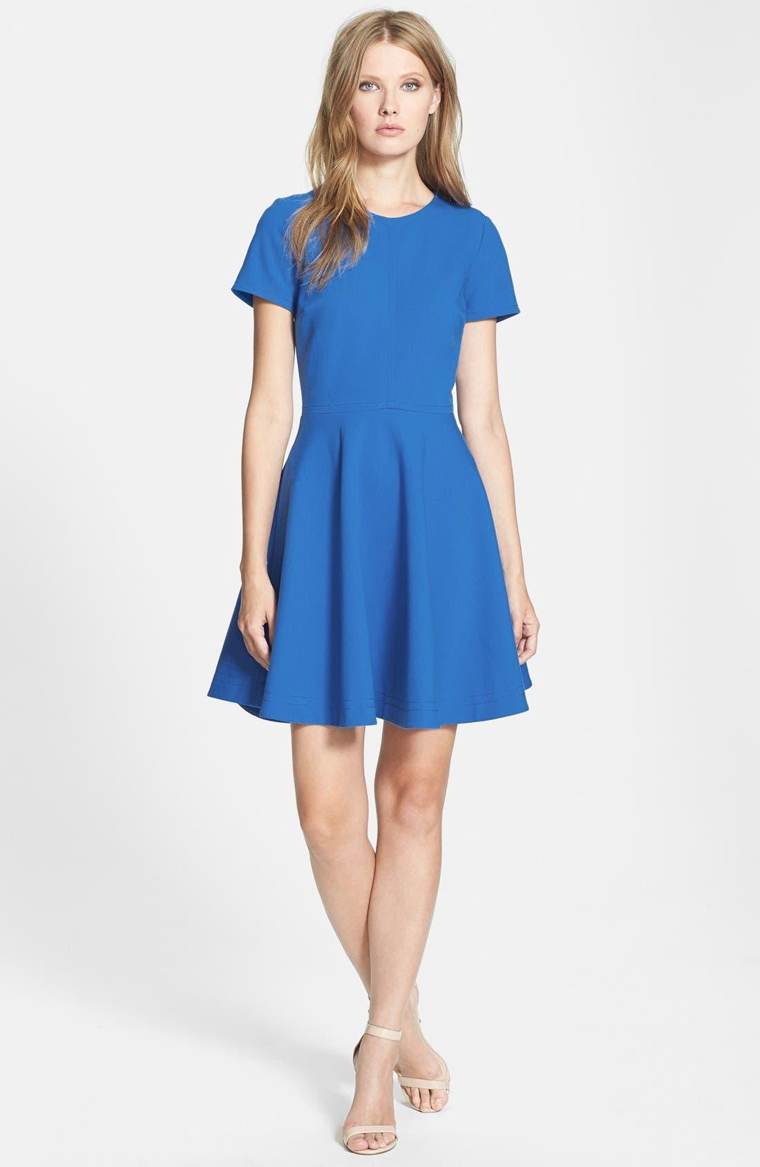 Alternate Image 1 Selected - Diane von Furstenberg 'Ivana' Fit & Flare Dress