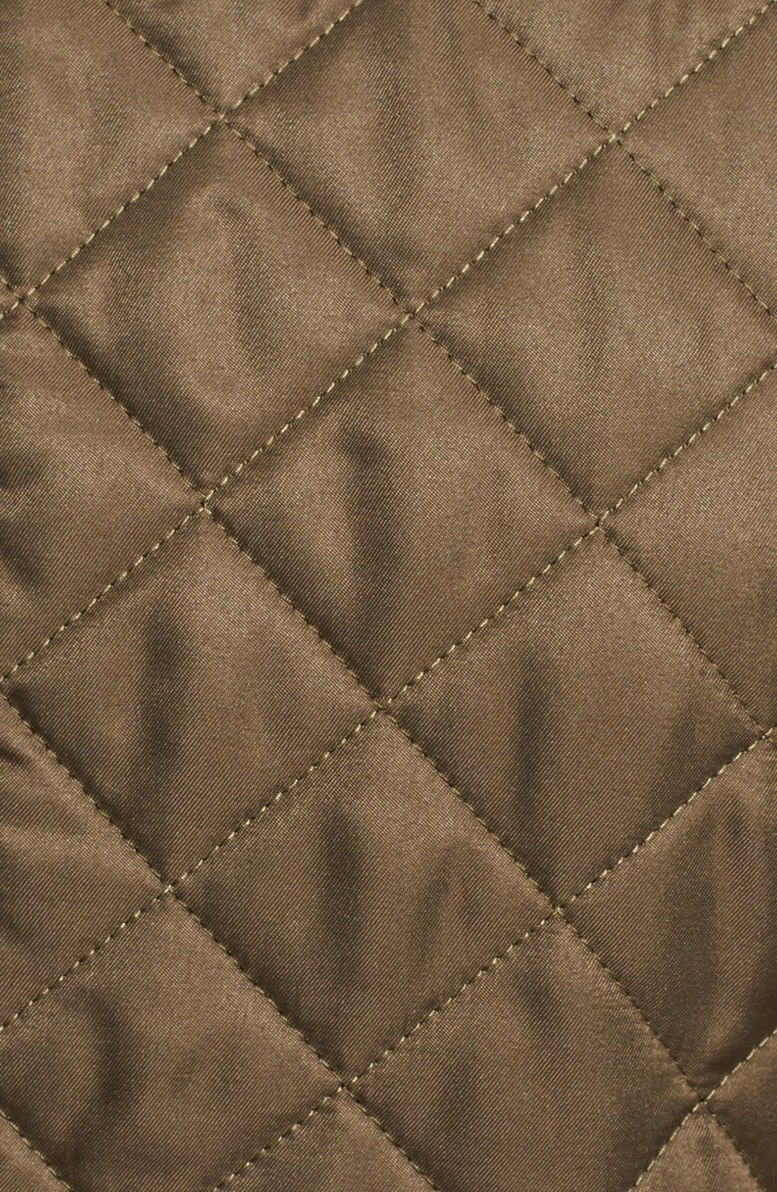 Alternate Image 3  - Burberry Brit 'Willsmoore' Quilted Snap Front Jacket