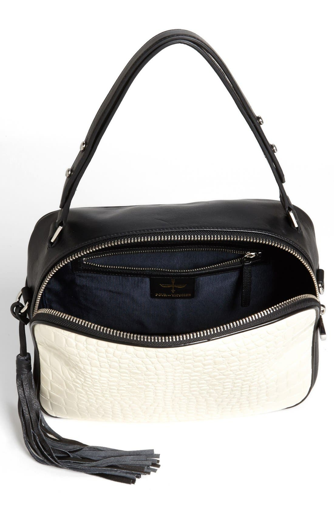 Alternate Image 3  - Pour la Victoire 'Nora' Leather Crossbody Bag