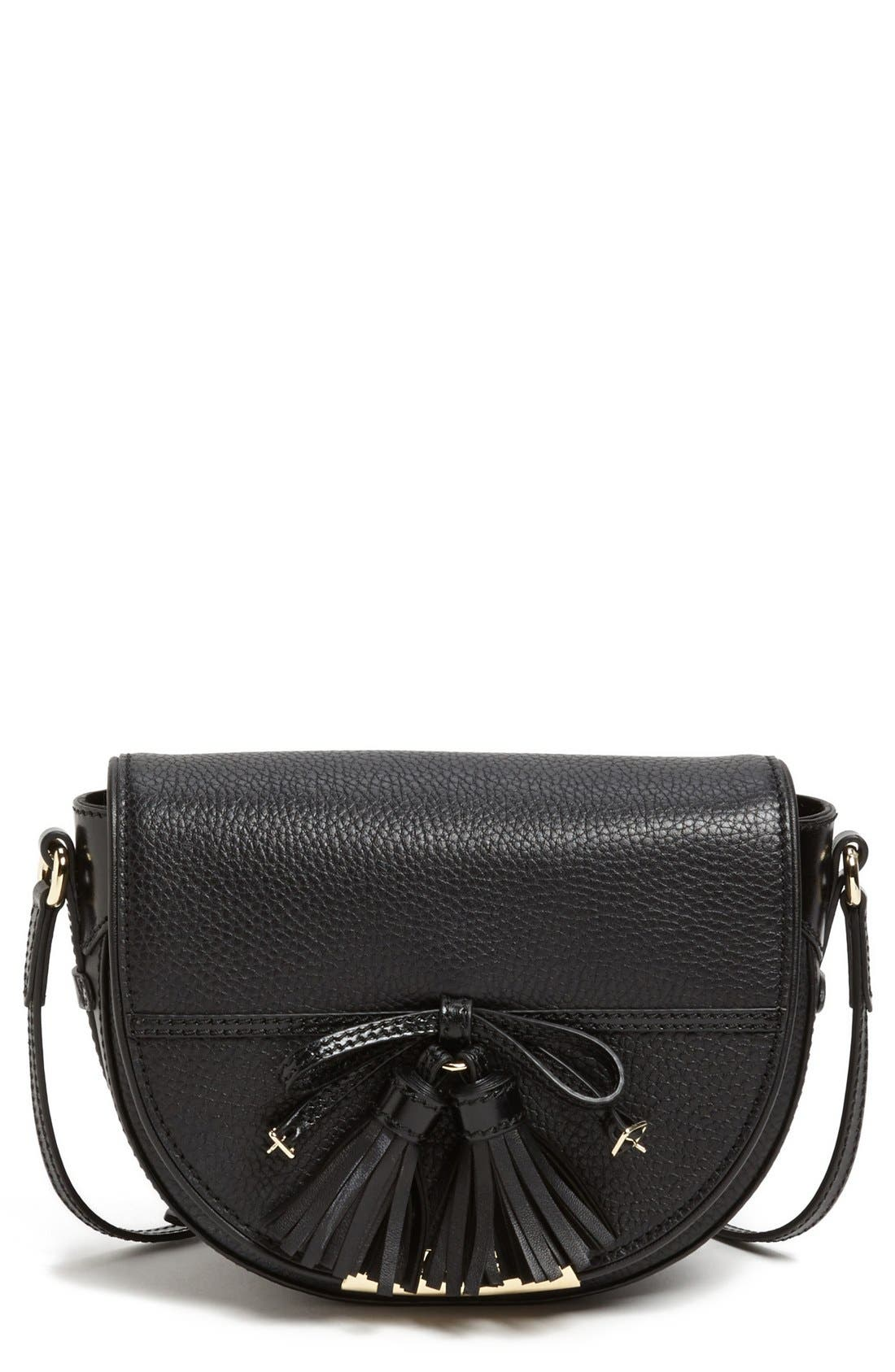 Alternate Image 1 Selected - Burberry 'Maydown' Leather Crossbody Bag
