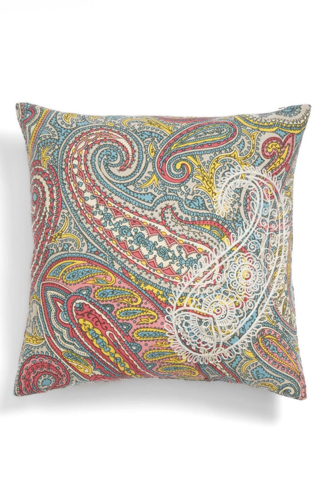 Alternate Image 1 Selected - Nordstrom at Home Paisley Pillow