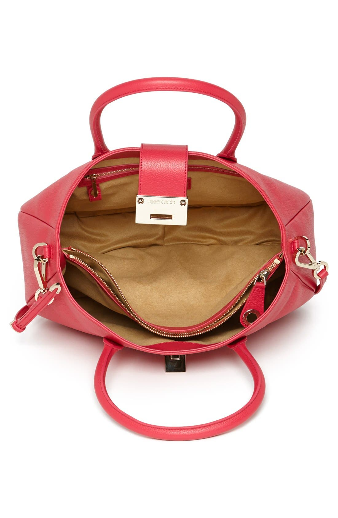 Alternate Image 3  - Jimmy Choo 'Rania' Leather Satchel