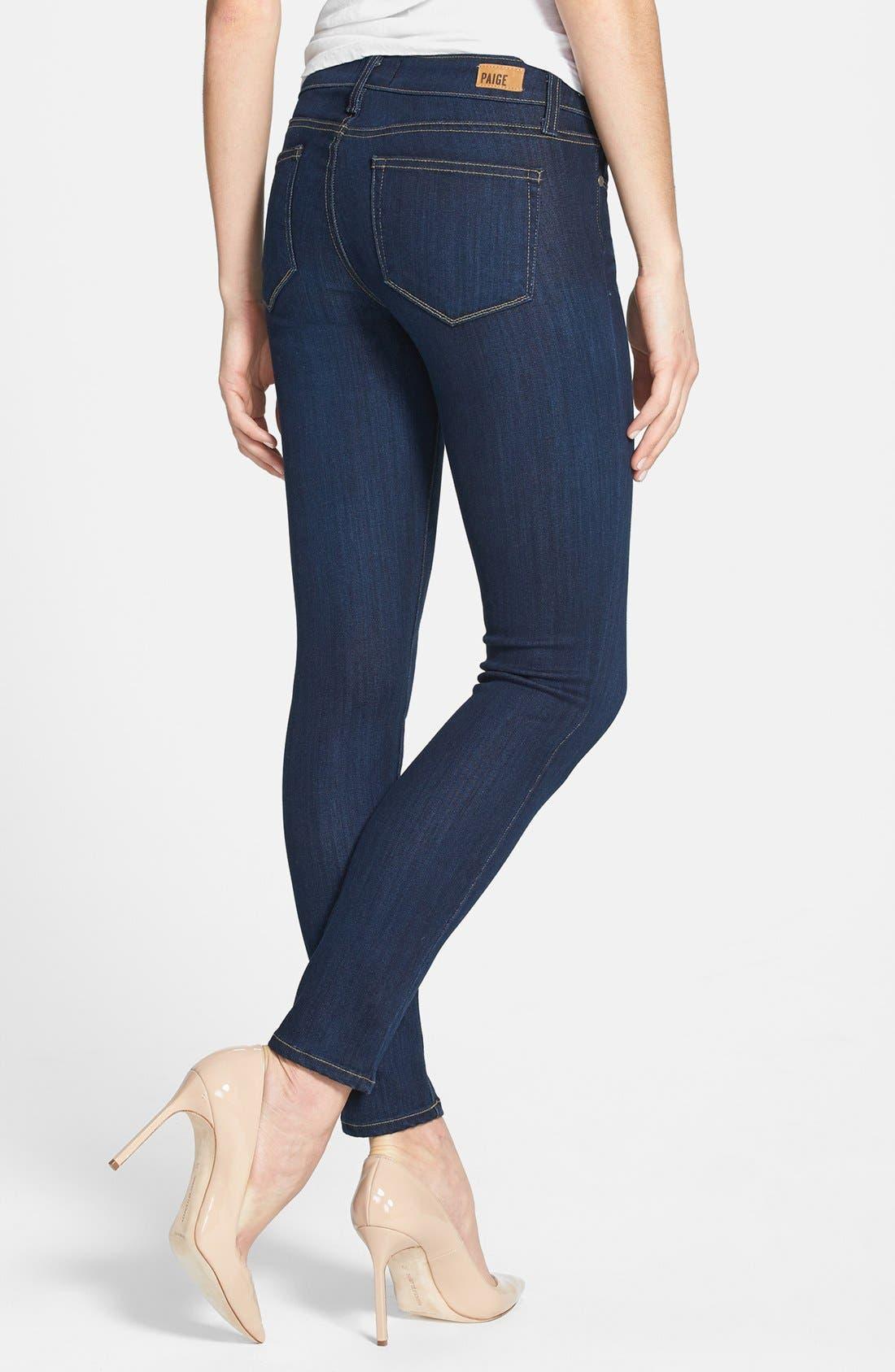 Alternate Image 2  - Paige Denim 'Verdugo' Skinny Ankle Jeans (Ashbury)