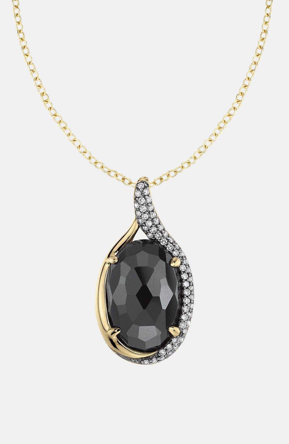 Alternate Image 2  - Whitney Stern Diamond & Stone Pendant Necklace