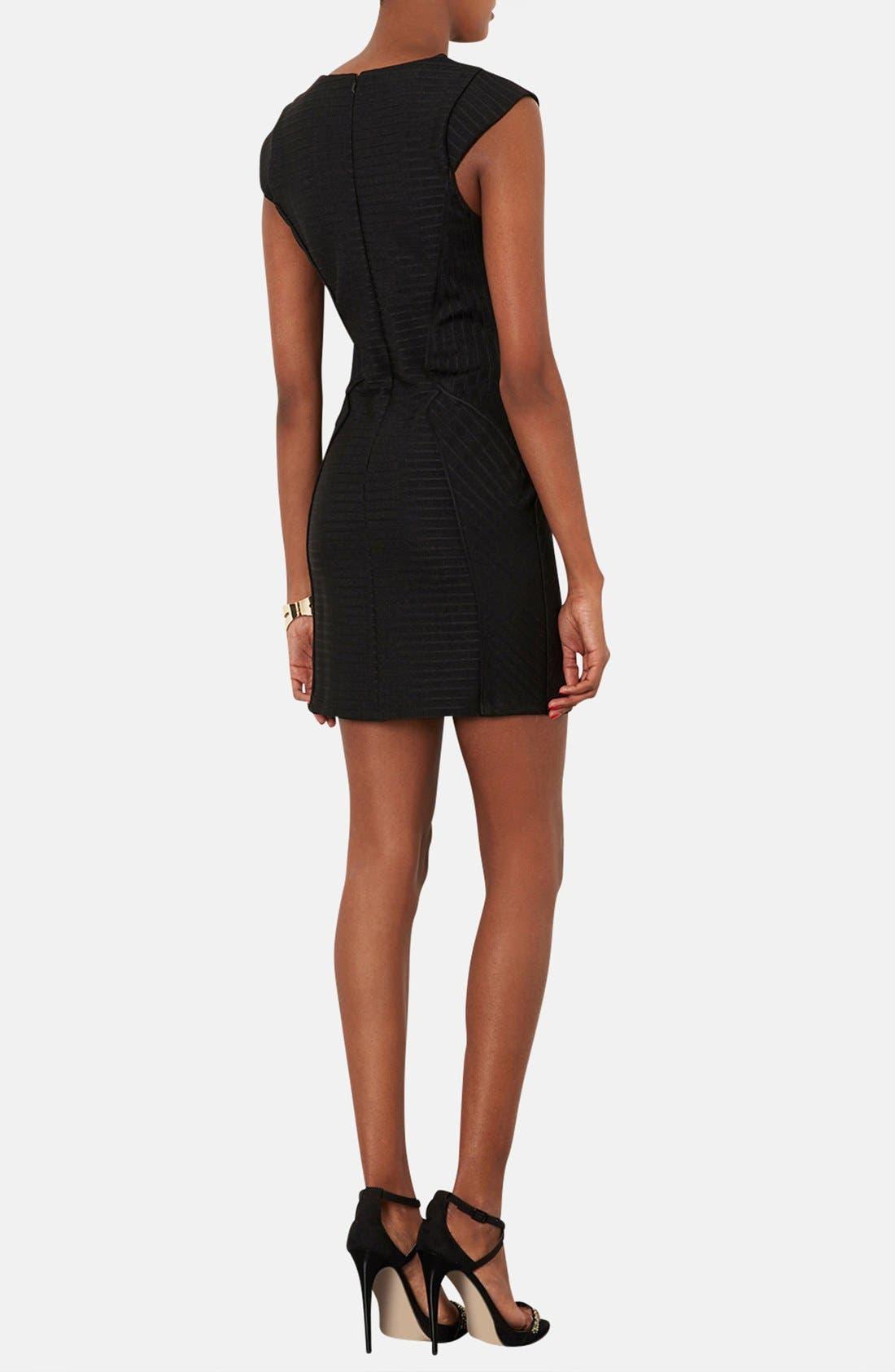 Alternate Image 2  - Topshop Bandage Jersey Body-Con Dress