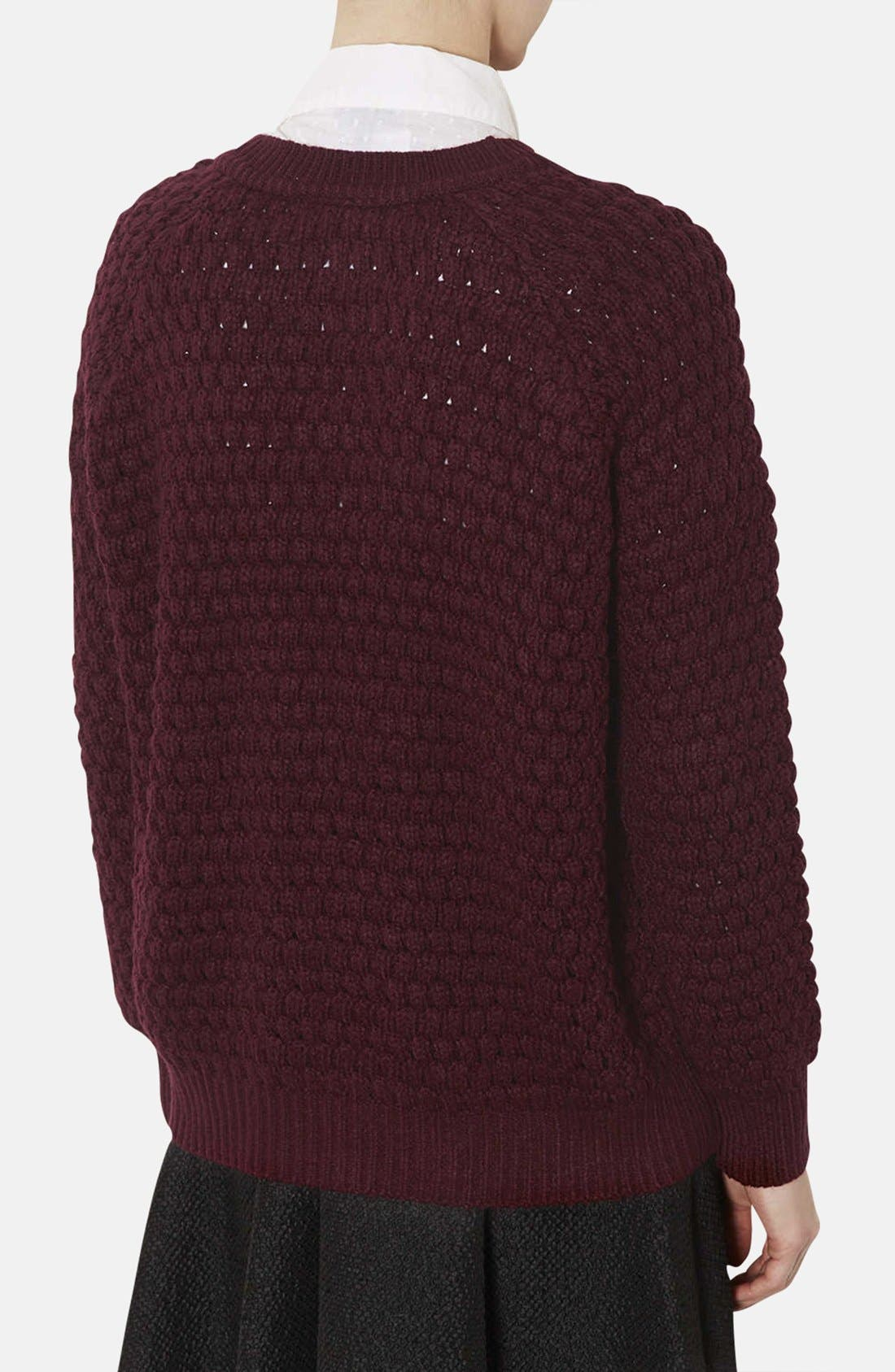 Alternate Image 2  - Topshop Chunky Bobble Knit Sweater