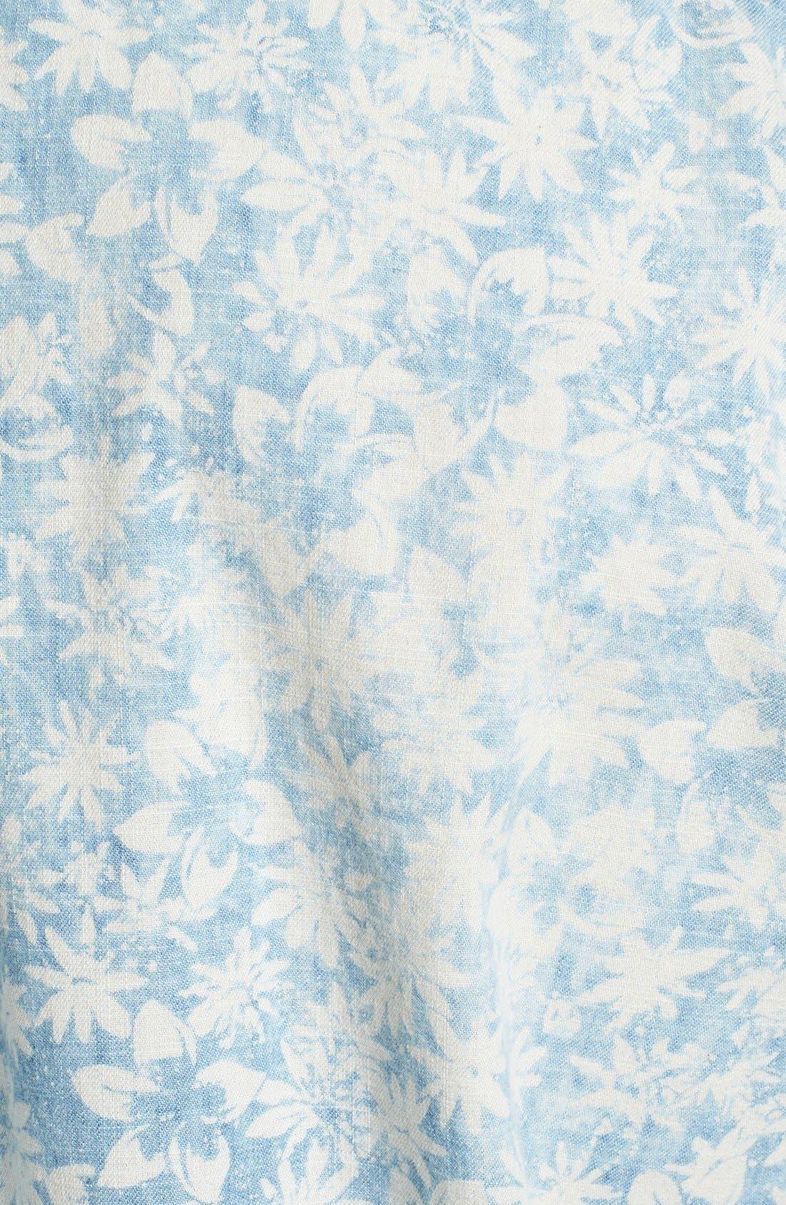 Alternate Image 3  - Tommy Bahama 'Fields Forever' Island Modern Fit Sport Shirt