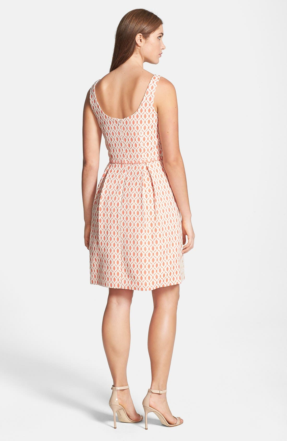 Alternate Image 2  - Trina Turk 'Solage' Jacquard Fit & Flare Dress