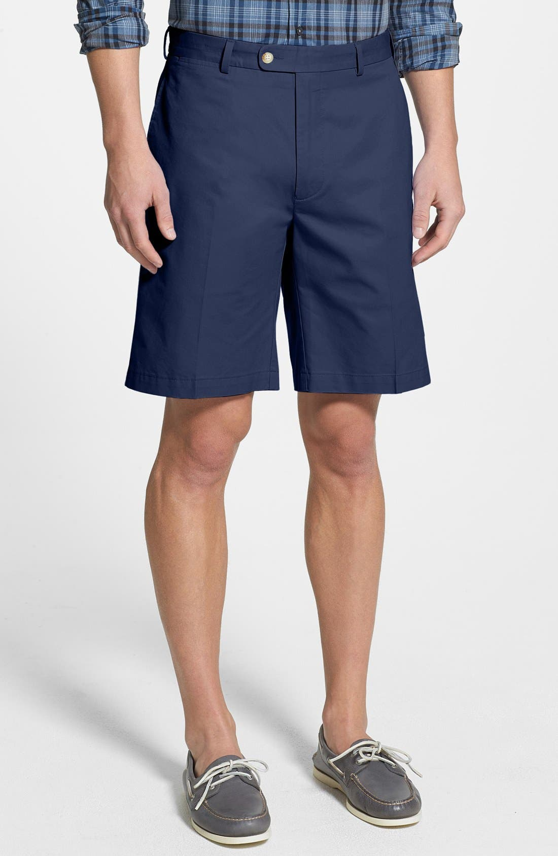 Main Image - Peter Millar Lightweight Cotton Shorts