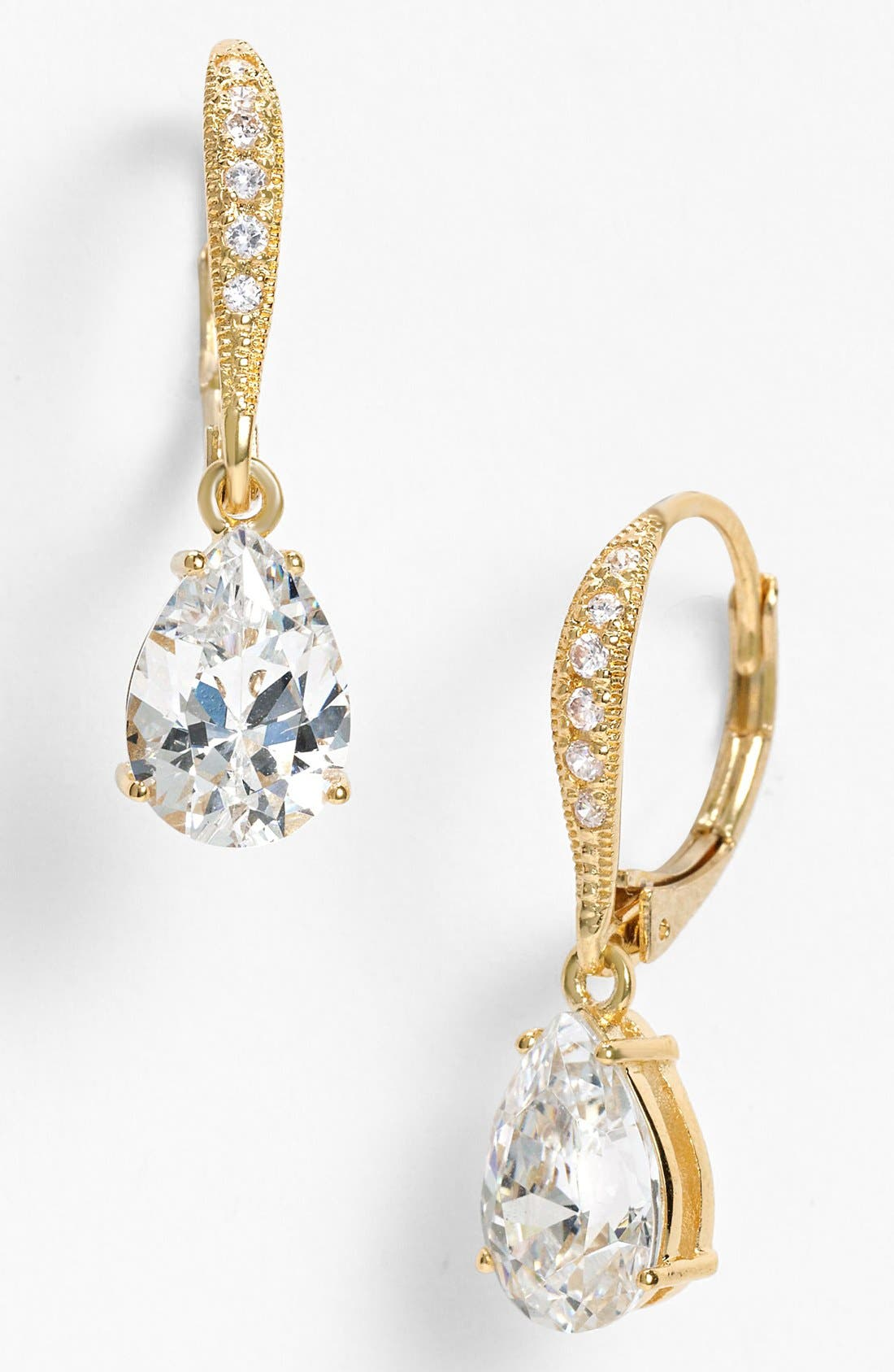 Main Image - Nadri Cubic Zirconia Teardrop Earrings (Nordstrom Exclusive)