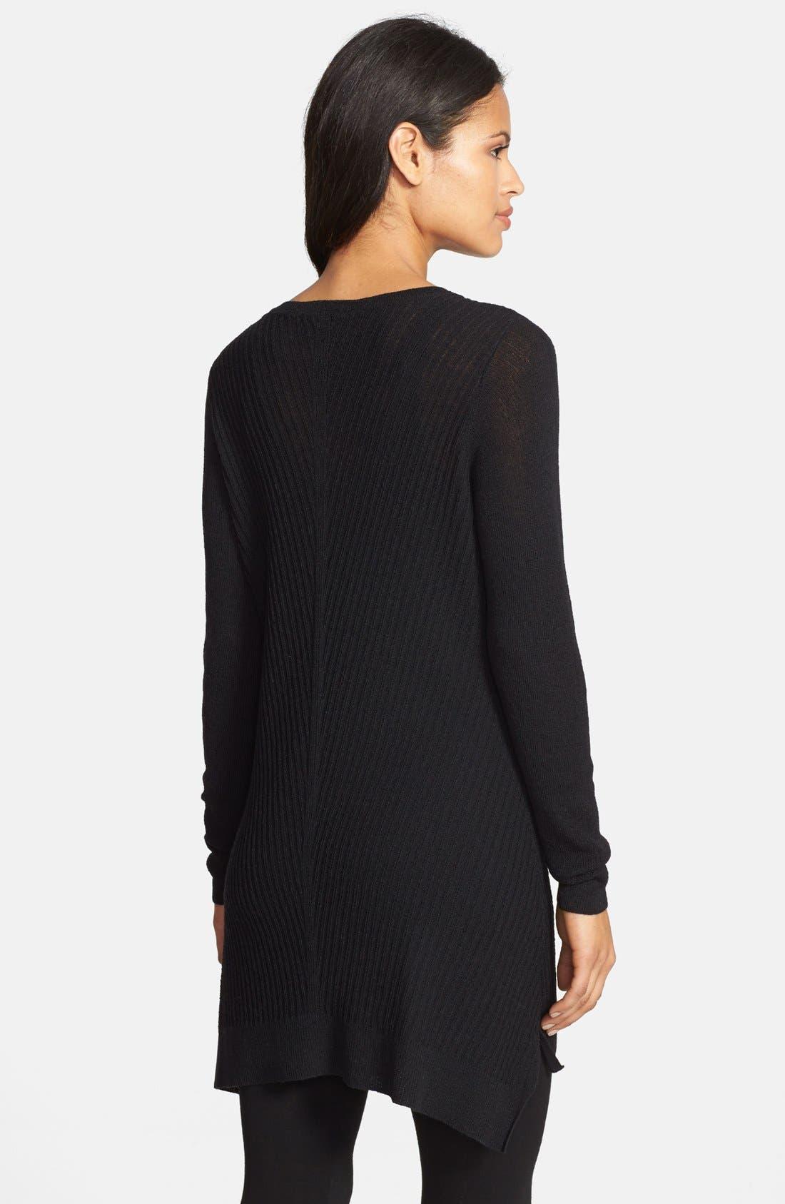 Alternate Image 2  - Eileen Fisher Washable Wool V-Neck Tunic