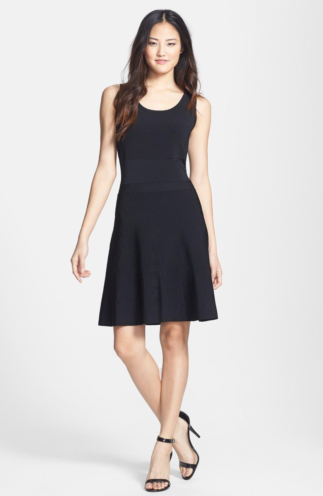 Main Image - Halogen® Sleeveless Sweater Knit Dress