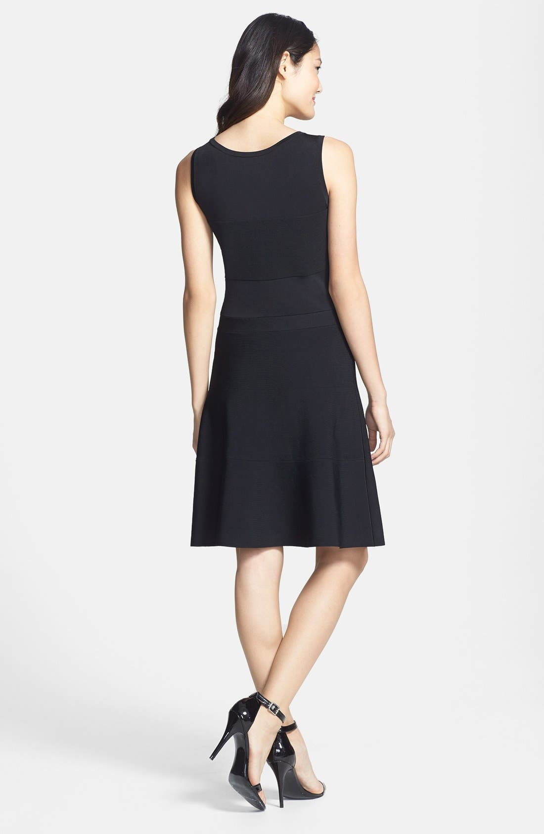 Alternate Image 2  - Halogen® Sleeveless Sweater Knit Dress