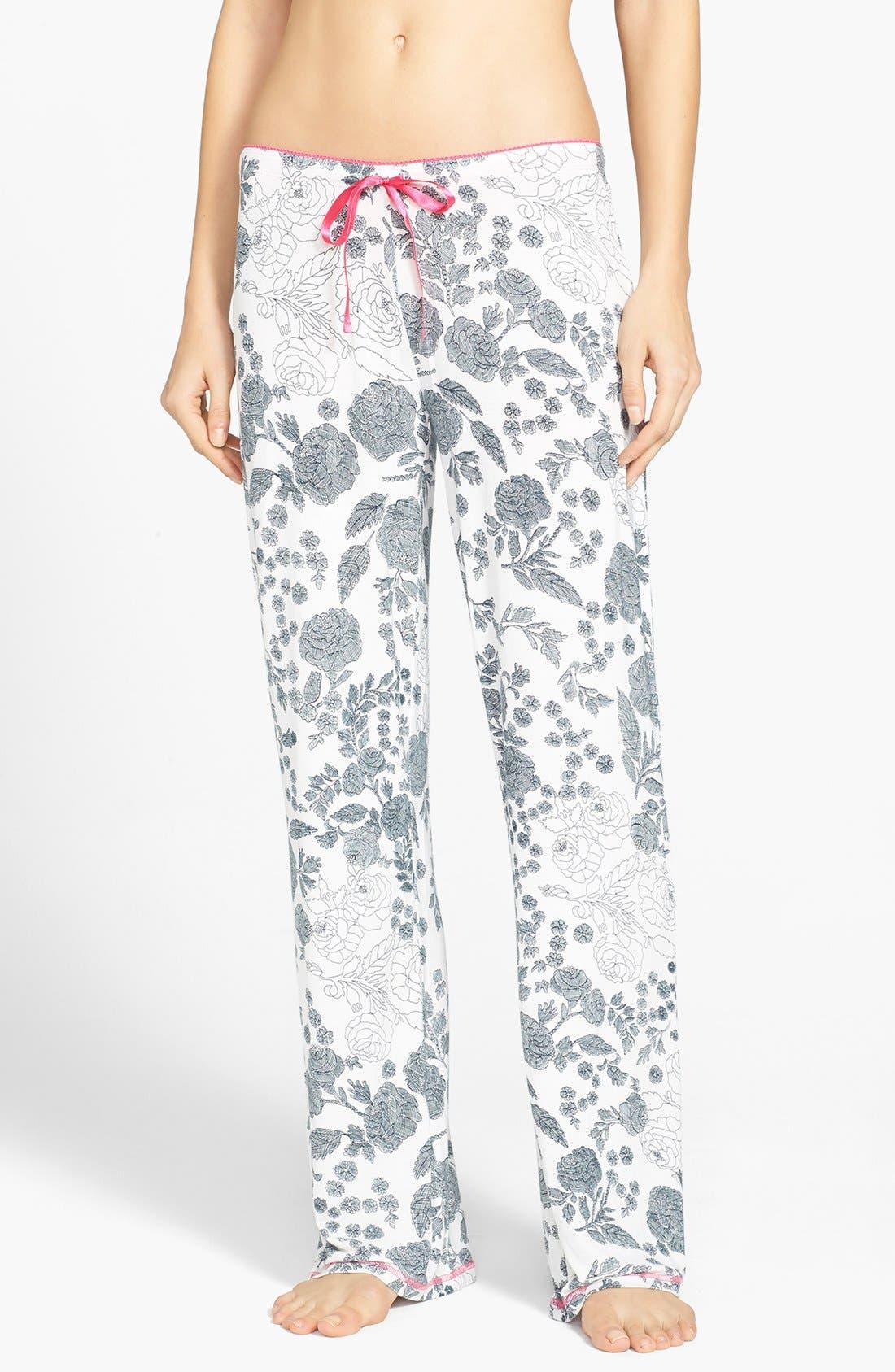 Alternate Image 1 Selected - PJ Salvage 'Sweet Floral' Pants