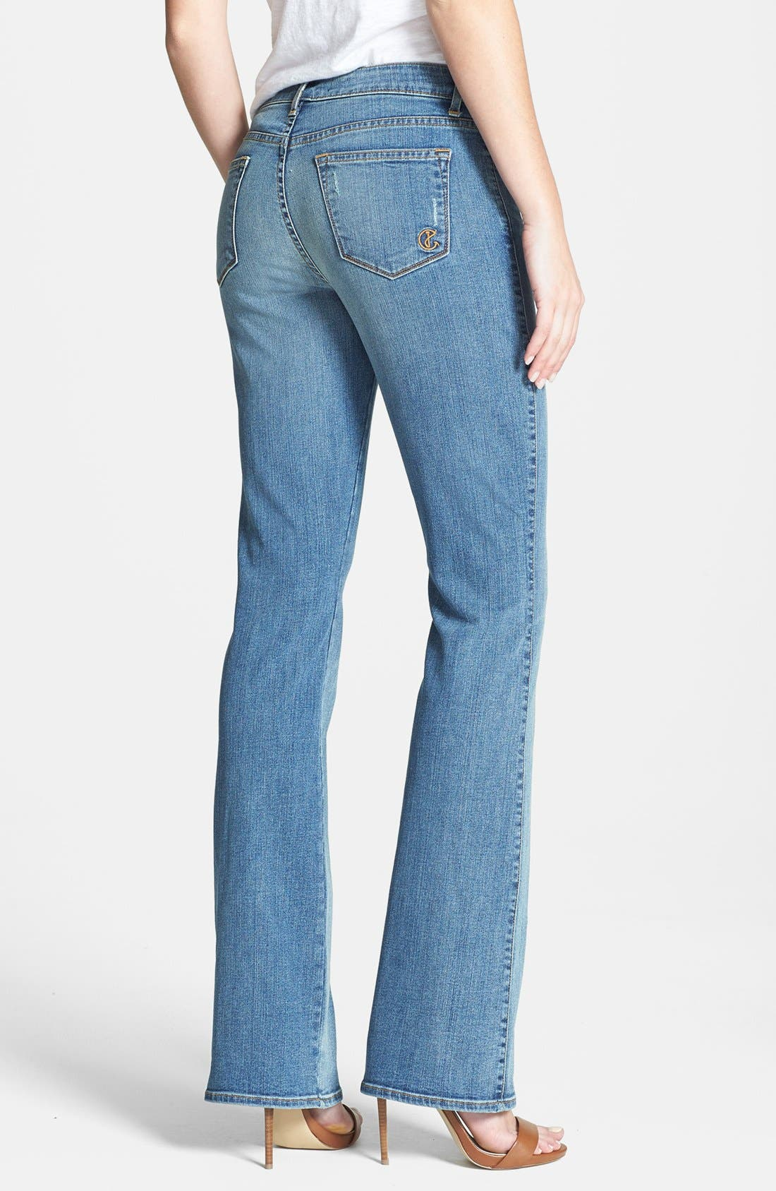 Alternate Image 2  - CJ by Cookie Johnson 'Grace' Bootcut Jeans (Aliamanu)