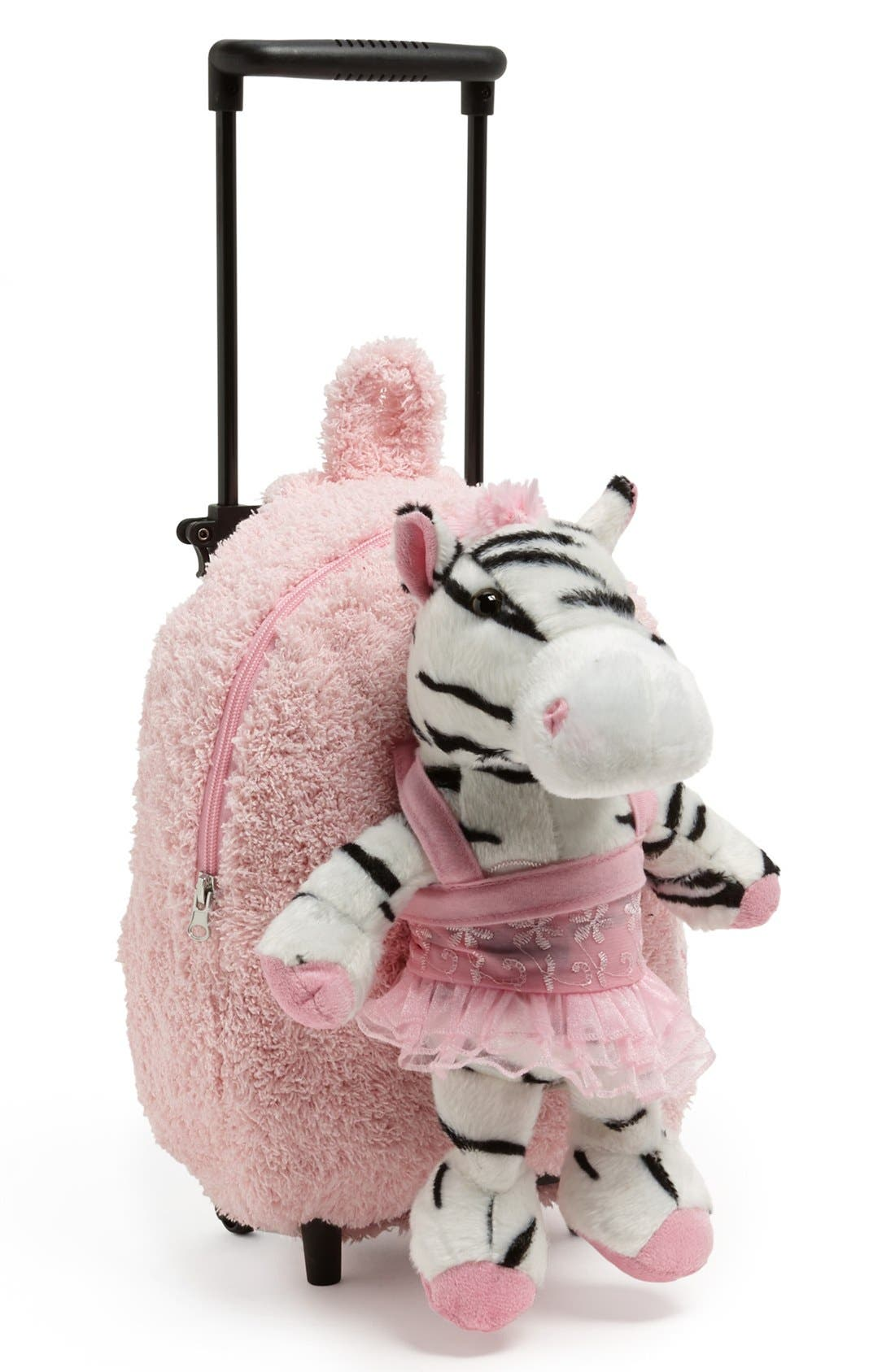Alternate Image 1 Selected - Popatu 'Zebra' Backpack (Girls)