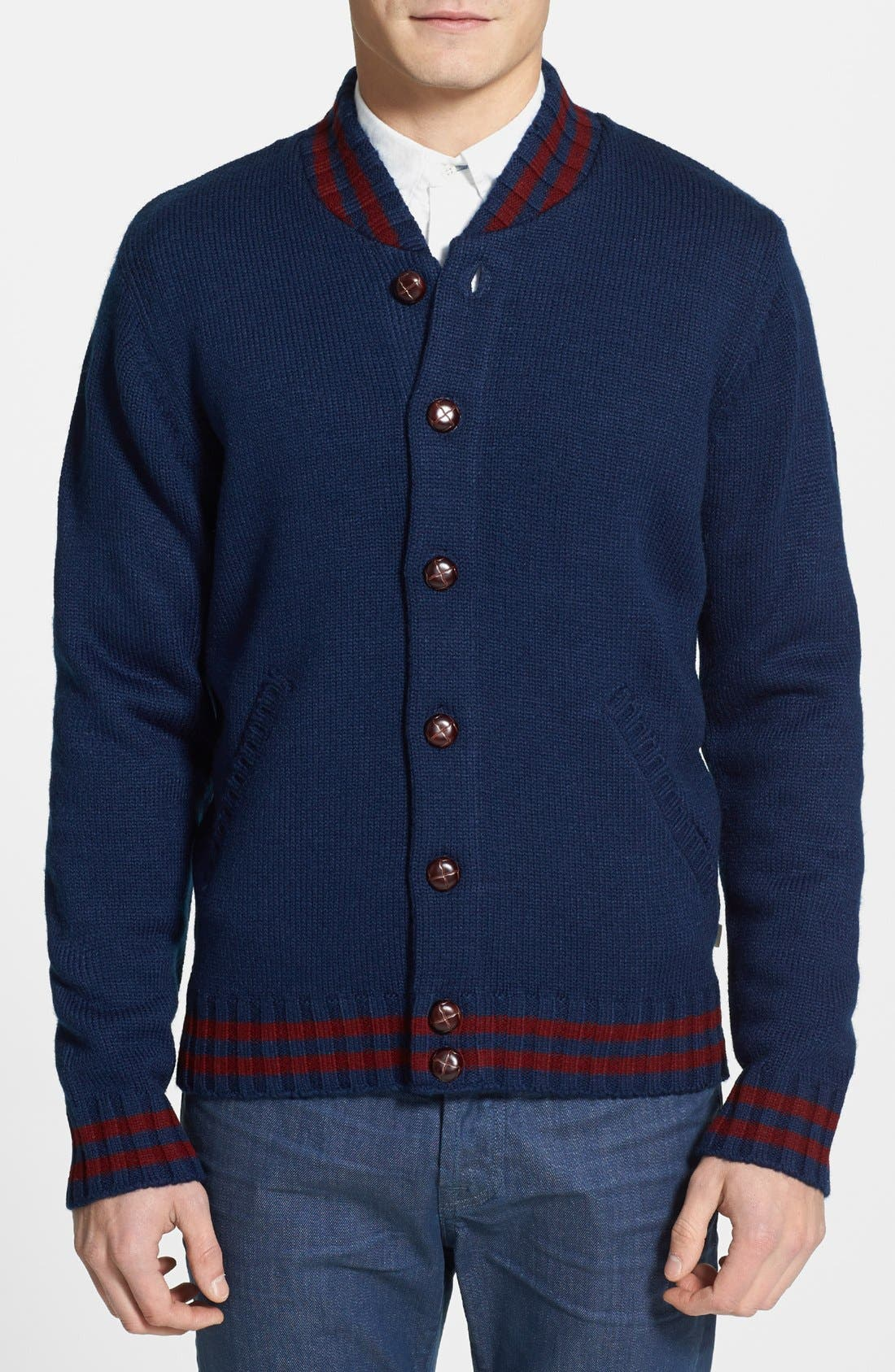 Main Image - Obey 'Campus' Cardigan