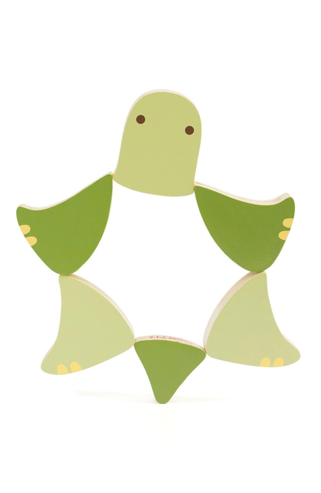 Alternate Image 2  - Skip Hop 'Giraffe Safari - Flip & Play Turtle' Wooden Toy