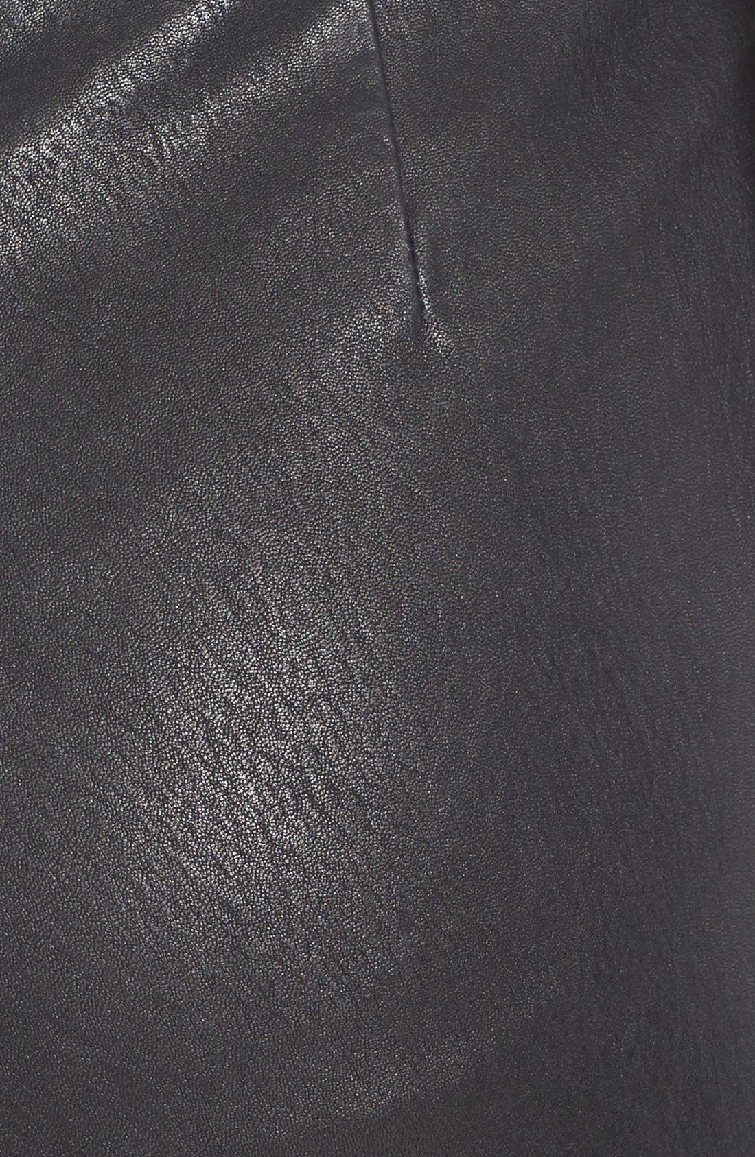Alternate Image 3  - Theory 'Redell L.' Leather Skinny Pants