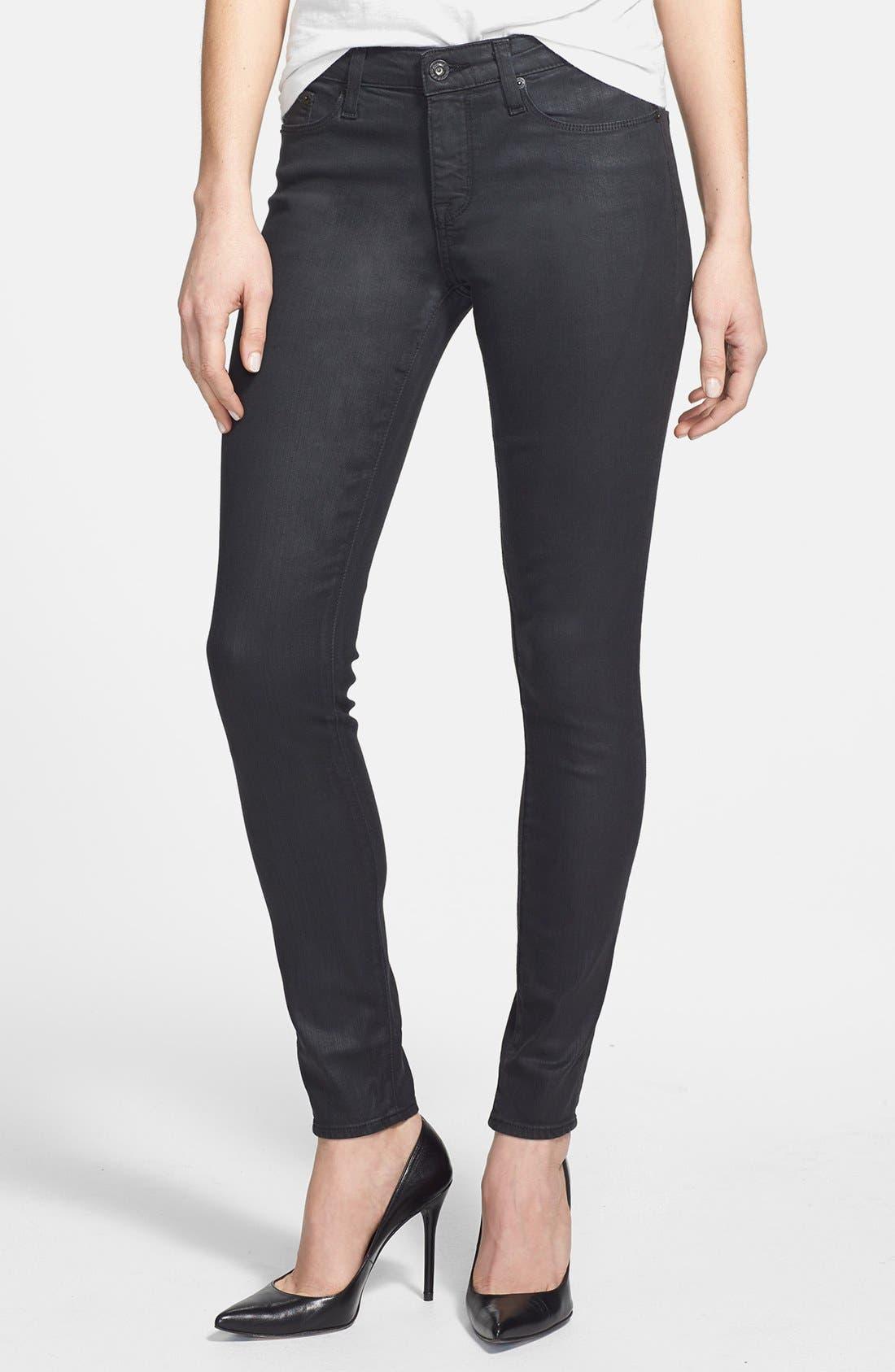 Alternate Image 1 Selected - Big Star 'Alex' Skinny Jeans (Gotham) (Petite)