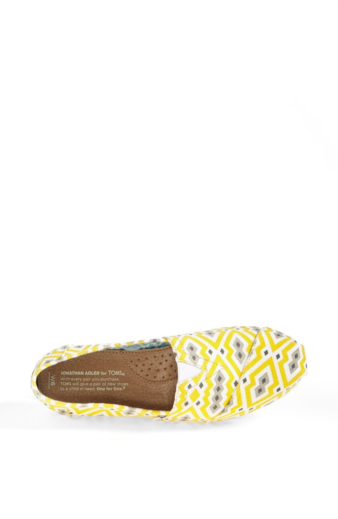 Alternate Image 3  - TOMS 'Classic - Jonathan Adler' Slip-On (Women)
