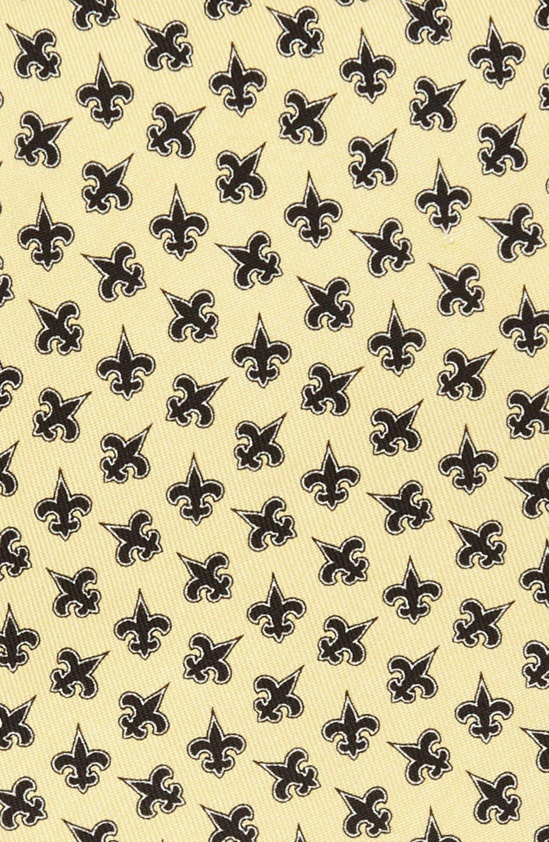 Alternate Image 2  - Vineyard Vines New Orleans Saints Print Tie