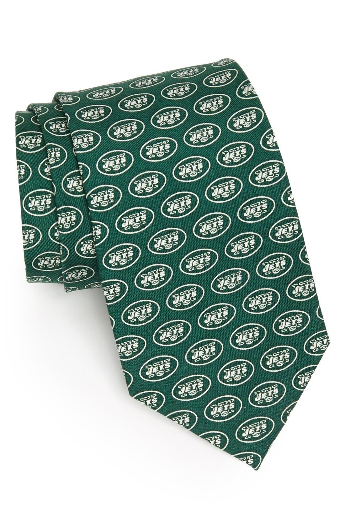 Vineyard Vines New York Jets Print Tie