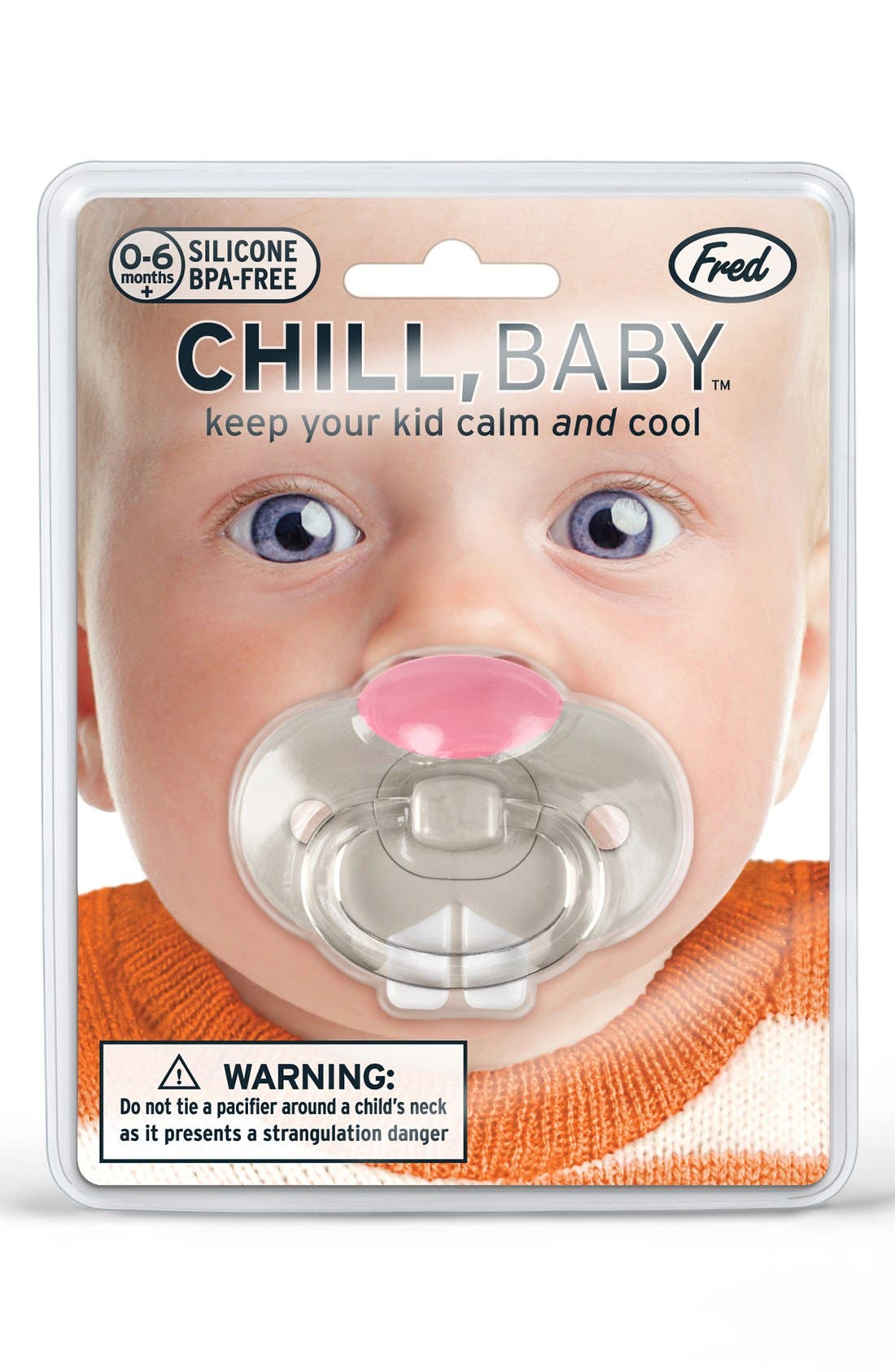 Alternate Image 3  - Fred & Friends 'Chill, Baby - Bunny' Pacifier