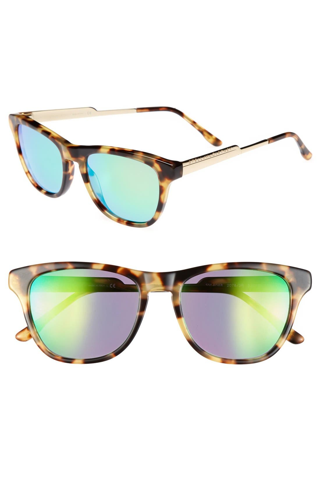 Main Image - Stella McCartney 52mm Retro Sunglasses