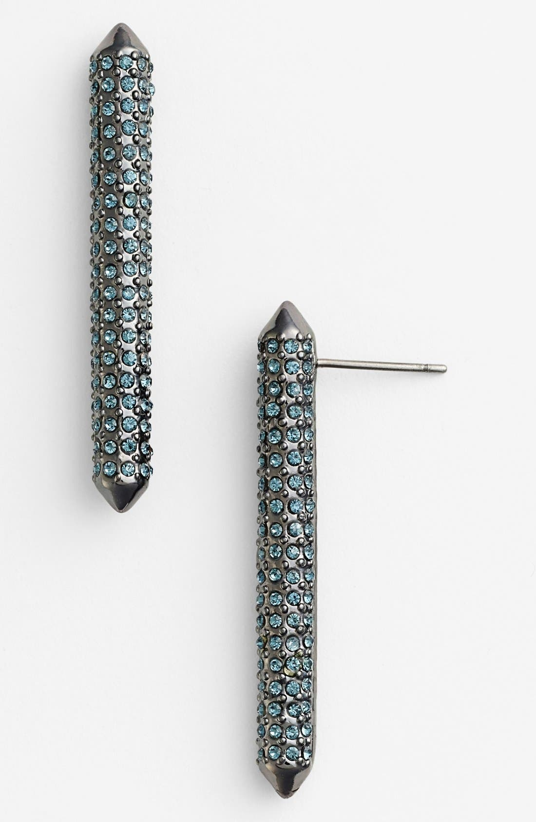 Alternate Image 1 Selected - Rebecca Minkoff Long Bar Stud Earrings