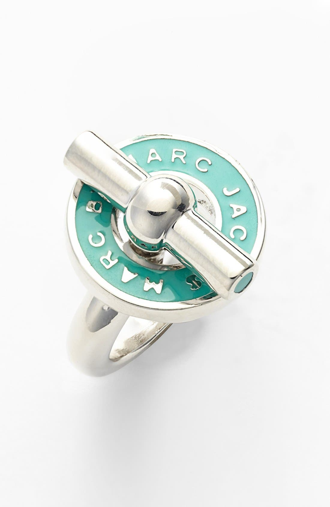 Alternate Image 1 Selected - MARC BY MARC JACOBS 'Toggles & Turnlocks' Enamel Toggle Ring