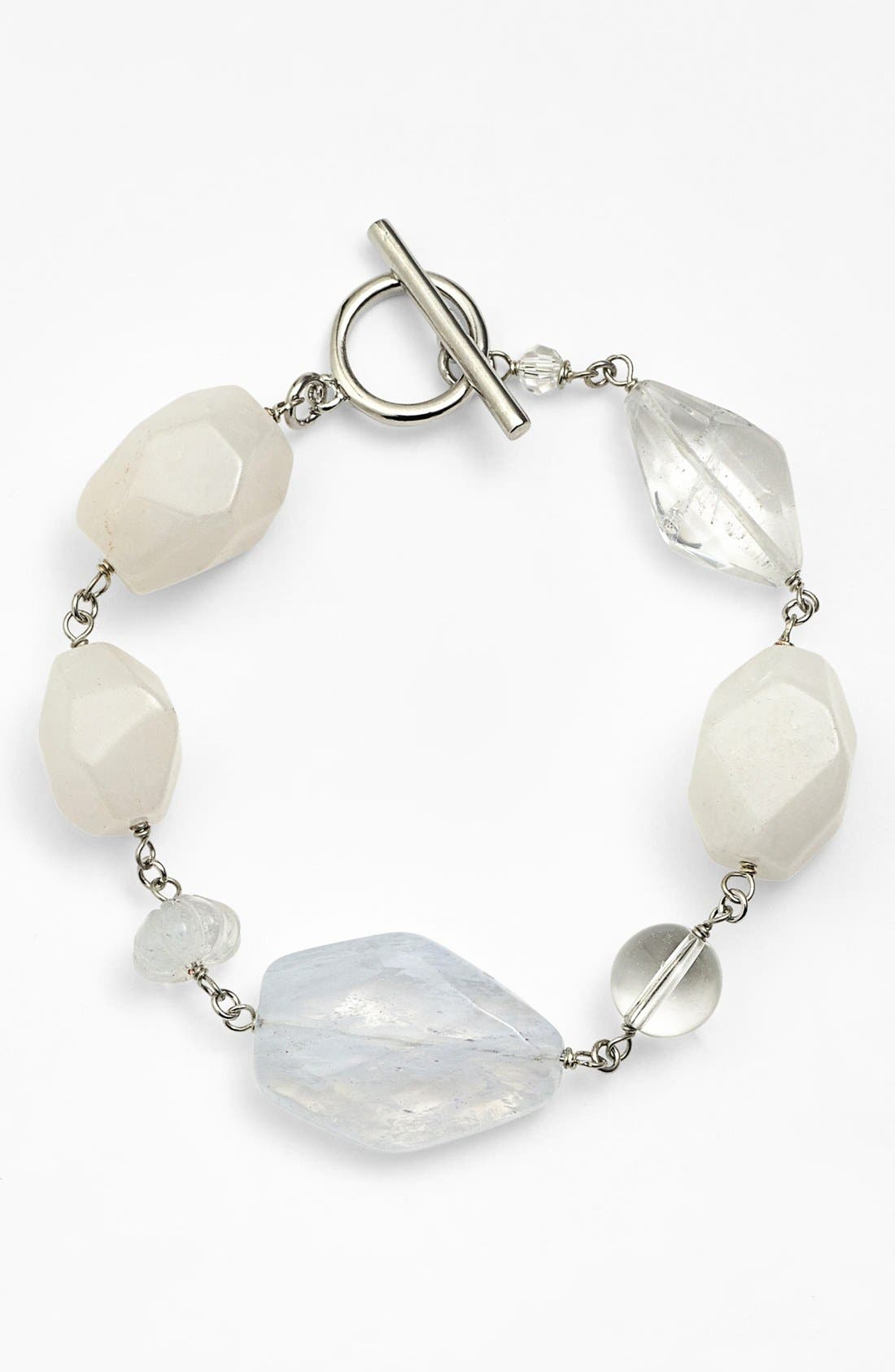 Alternate Image 1 Selected - Lauren Ralph Lauren Stone Toggle Bracelet
