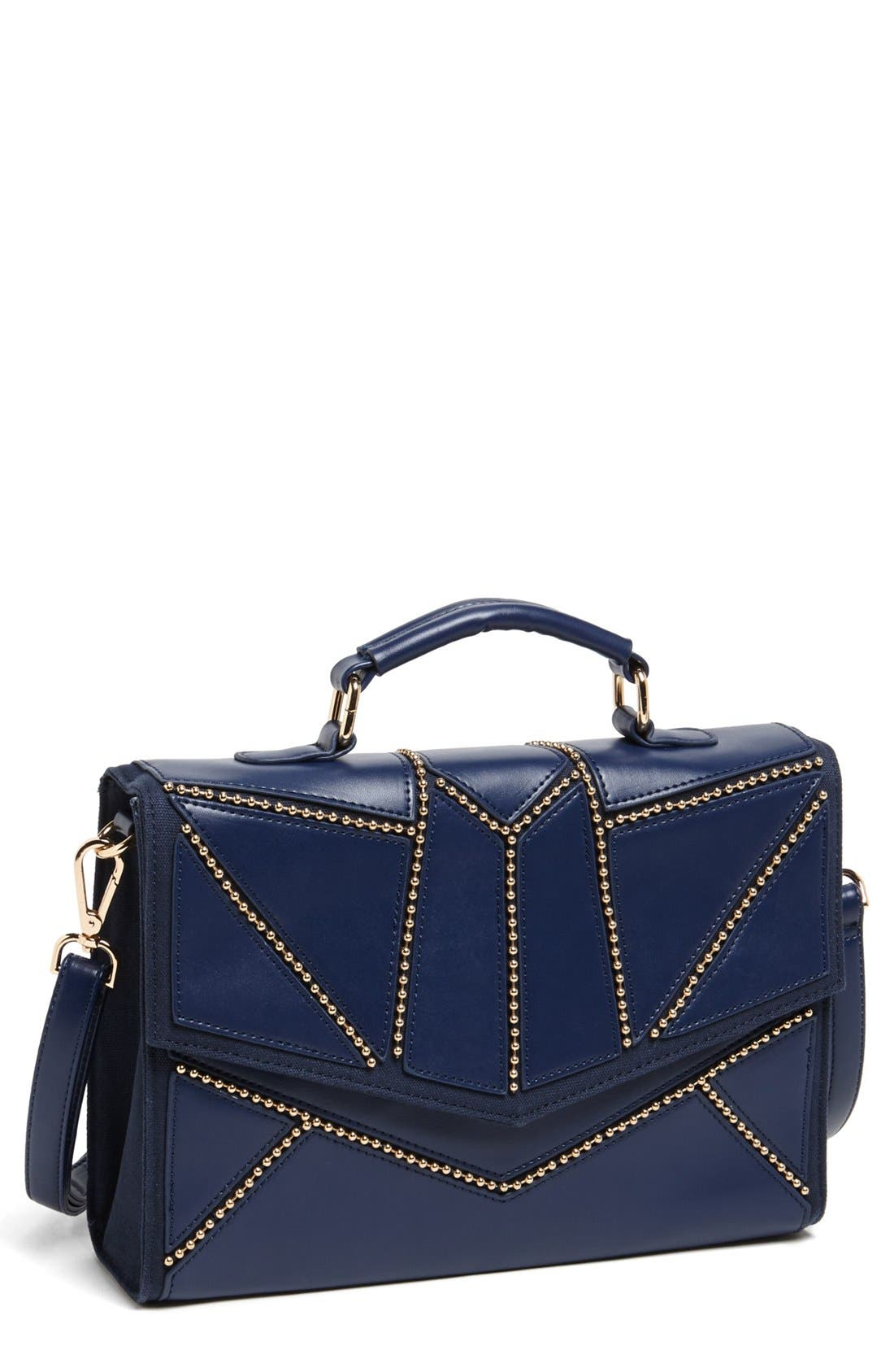 Alternate Image 1 Selected - Nila Anthony Studded Satchel