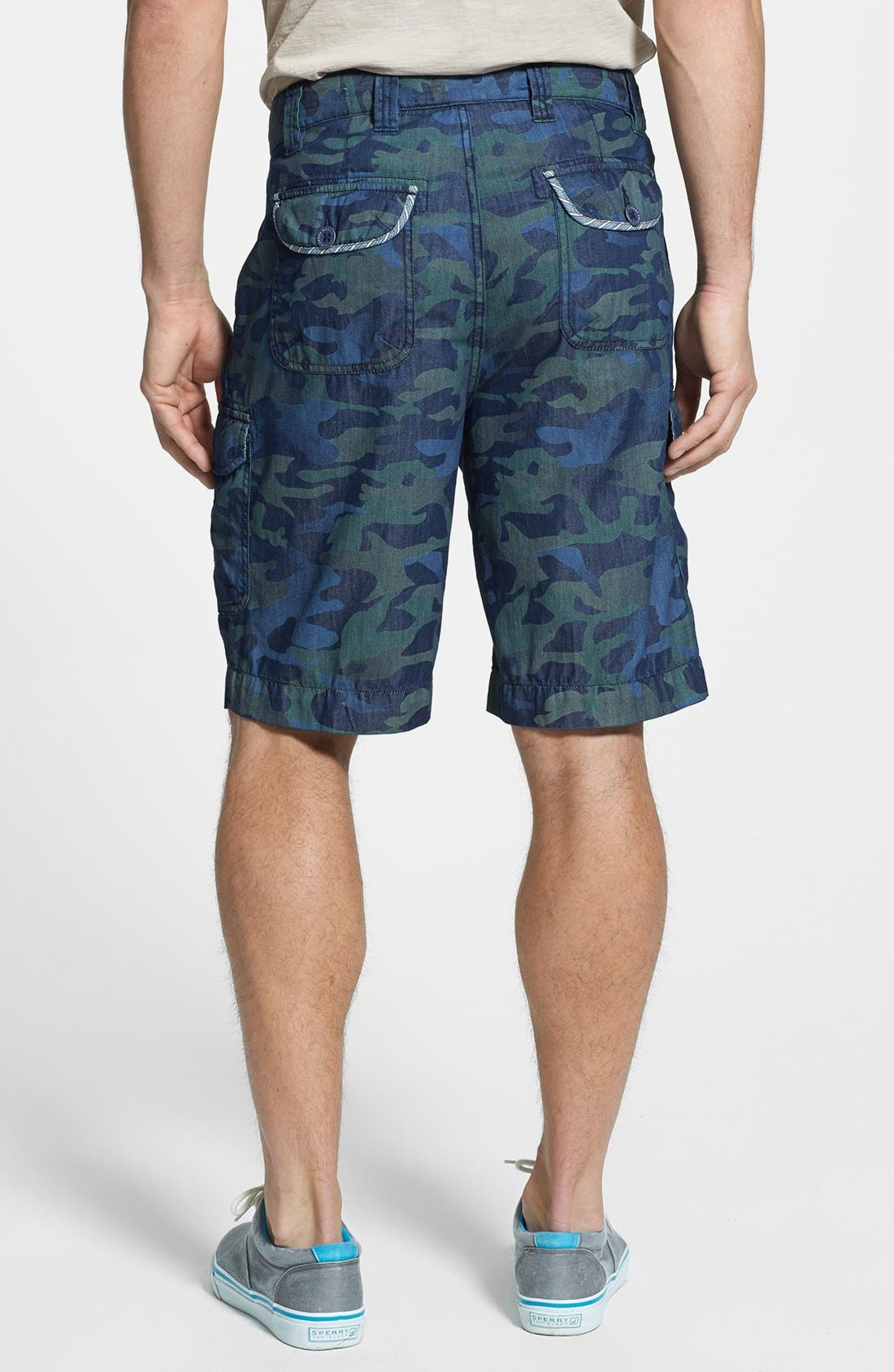 Alternate Image 2  - Robert Graham 'Welbersere' Cargo Shorts