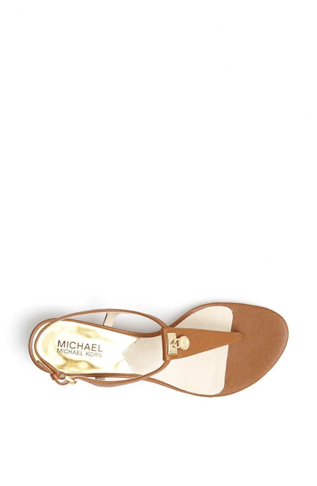 Alternate Image 3  - MICHAEL Michael Kors 'Hamilton' Thong Sandal